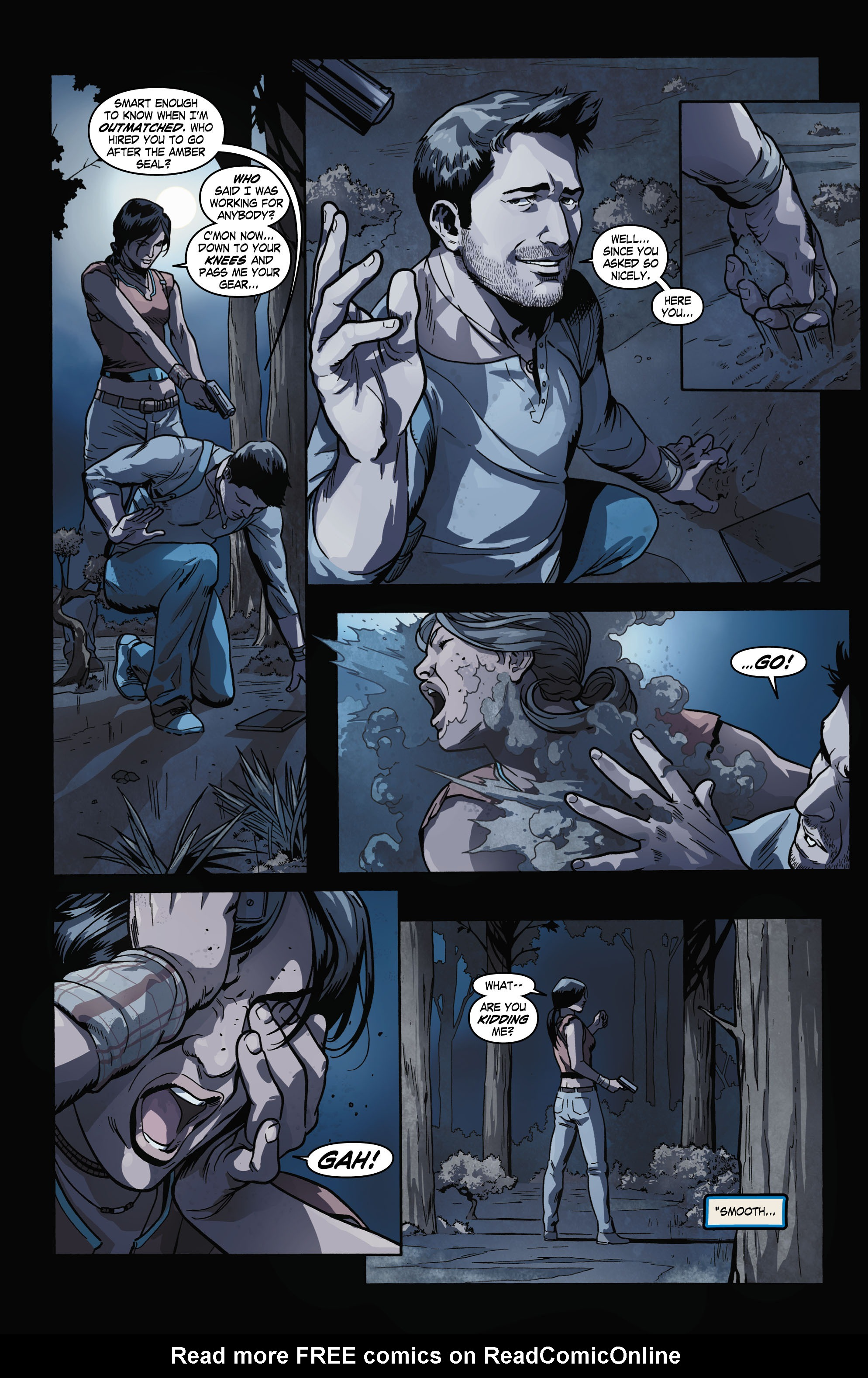 Read online Uncharted comic -  Issue #2 - 5