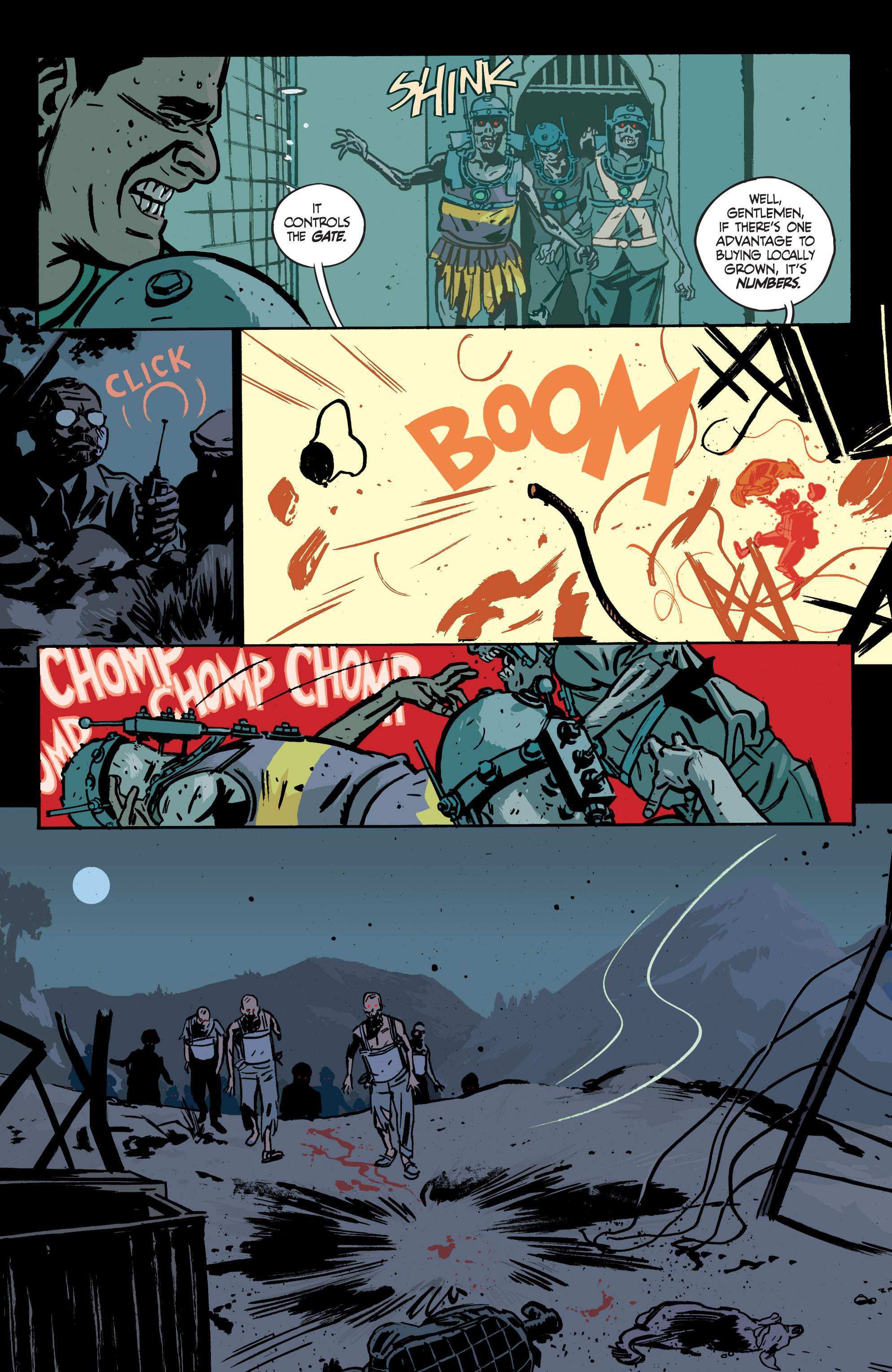 Read online Graveyard of Empires comic -  Issue # TPB - 111