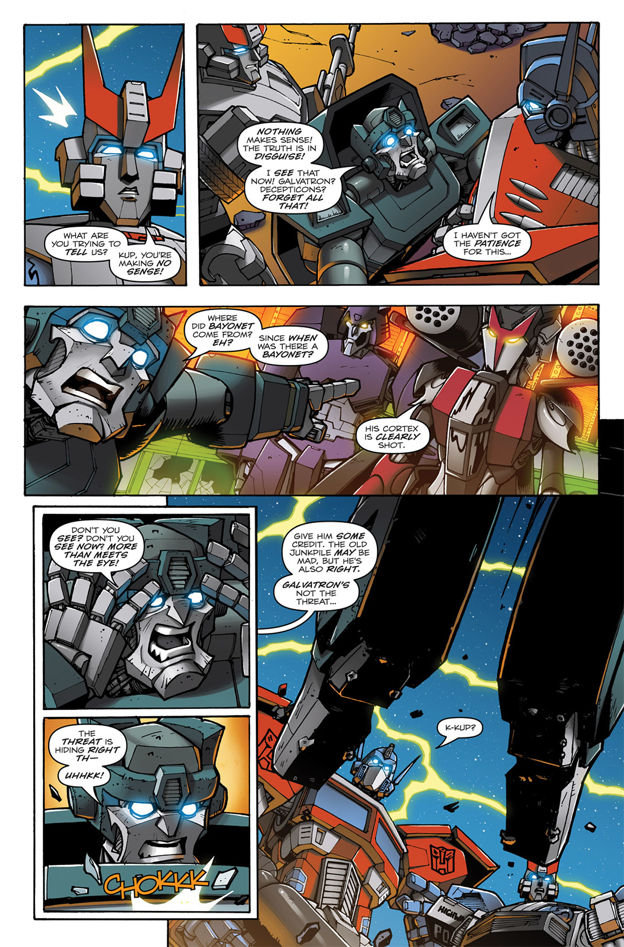Read online Transformers: Infestation comic -  Issue #1 - 24