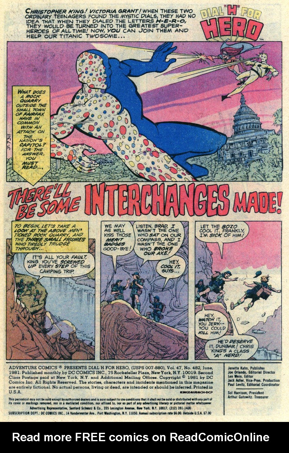 Read online Adventure Comics (1938) comic -  Issue #482 - 2