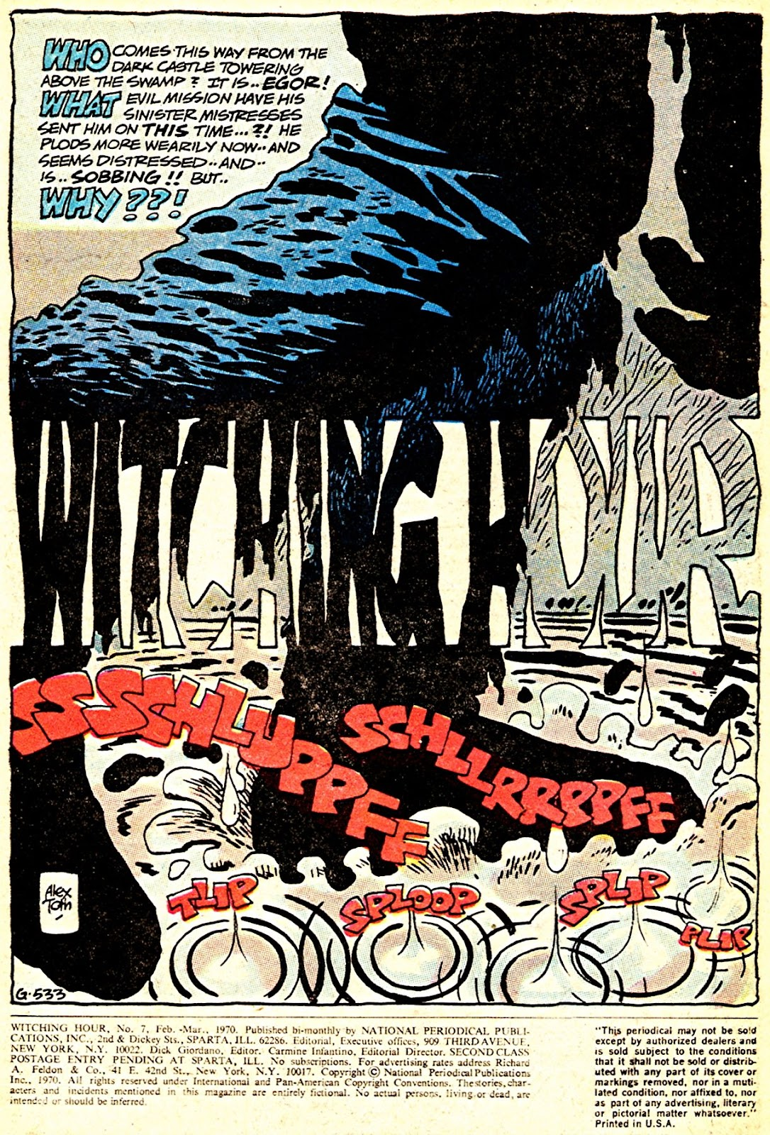 The Witching Hour (1969) issue 7 - Page 2