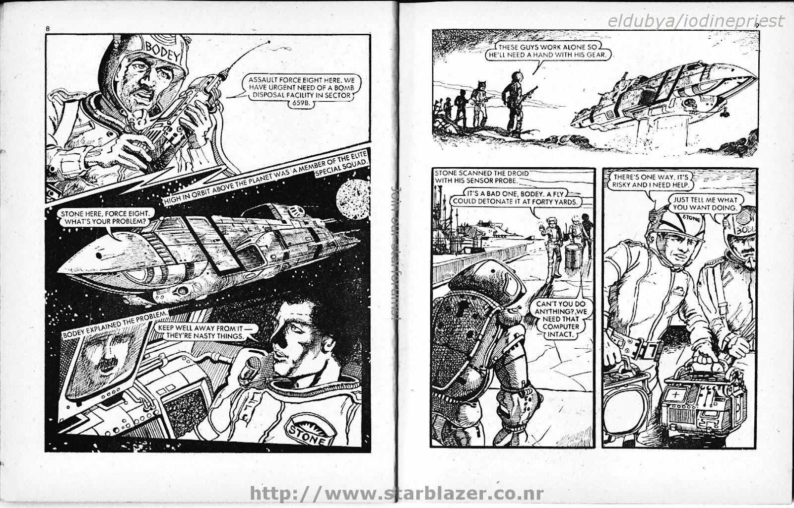 Starblazer issue 70 - Page 6