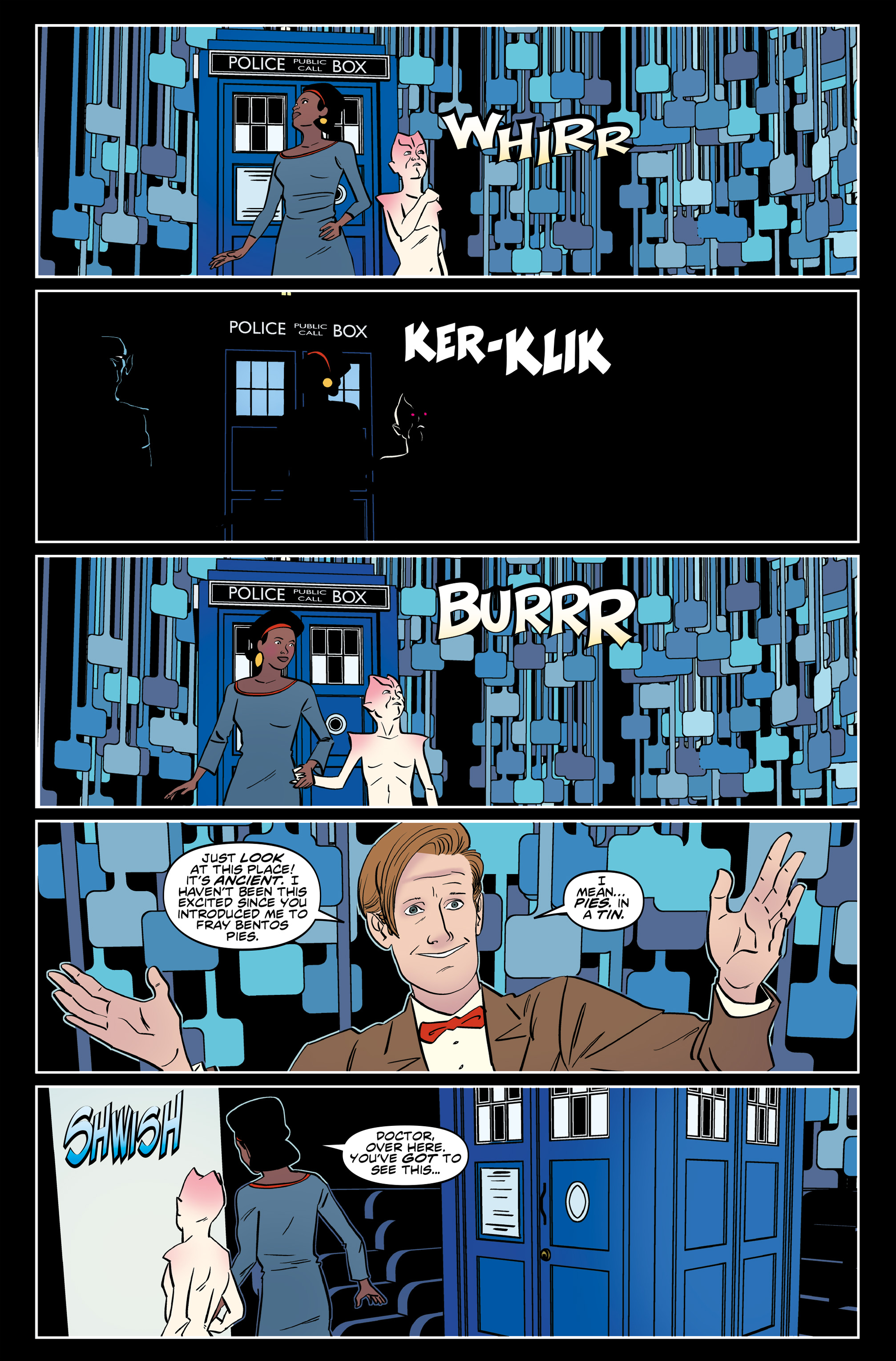 Read online Doctor Who: The Eleventh Doctor Year Three comic -  Issue #6 - 10