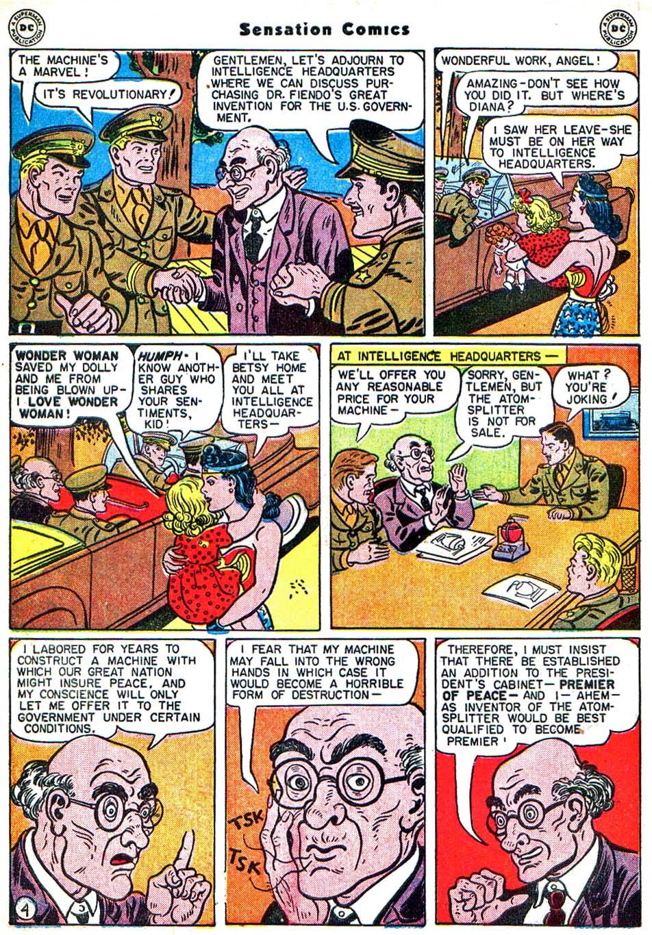Read online Sensation (Mystery) Comics comic -  Issue #54 - 7