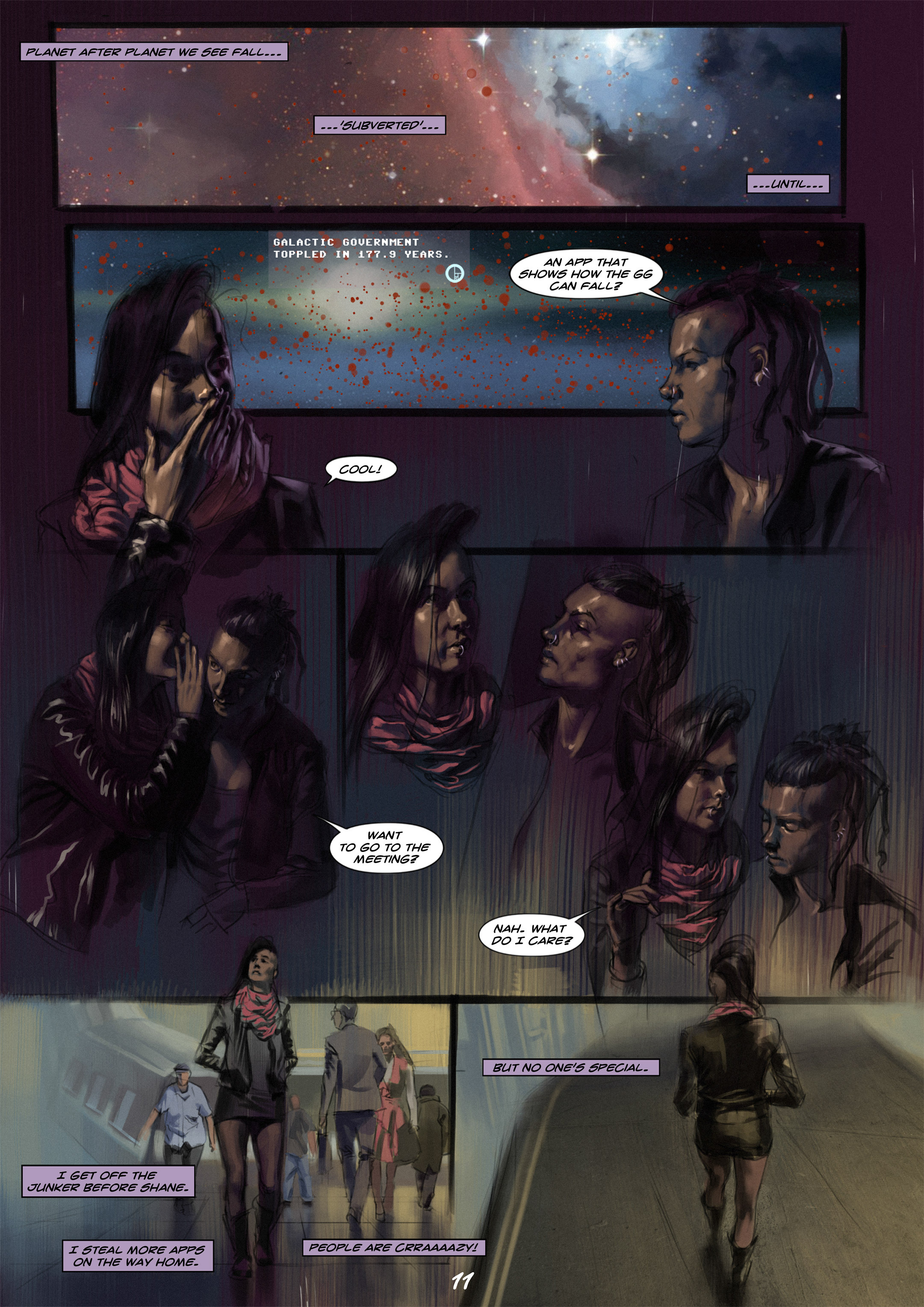Read online Wynter comic -  Issue #1 - 12