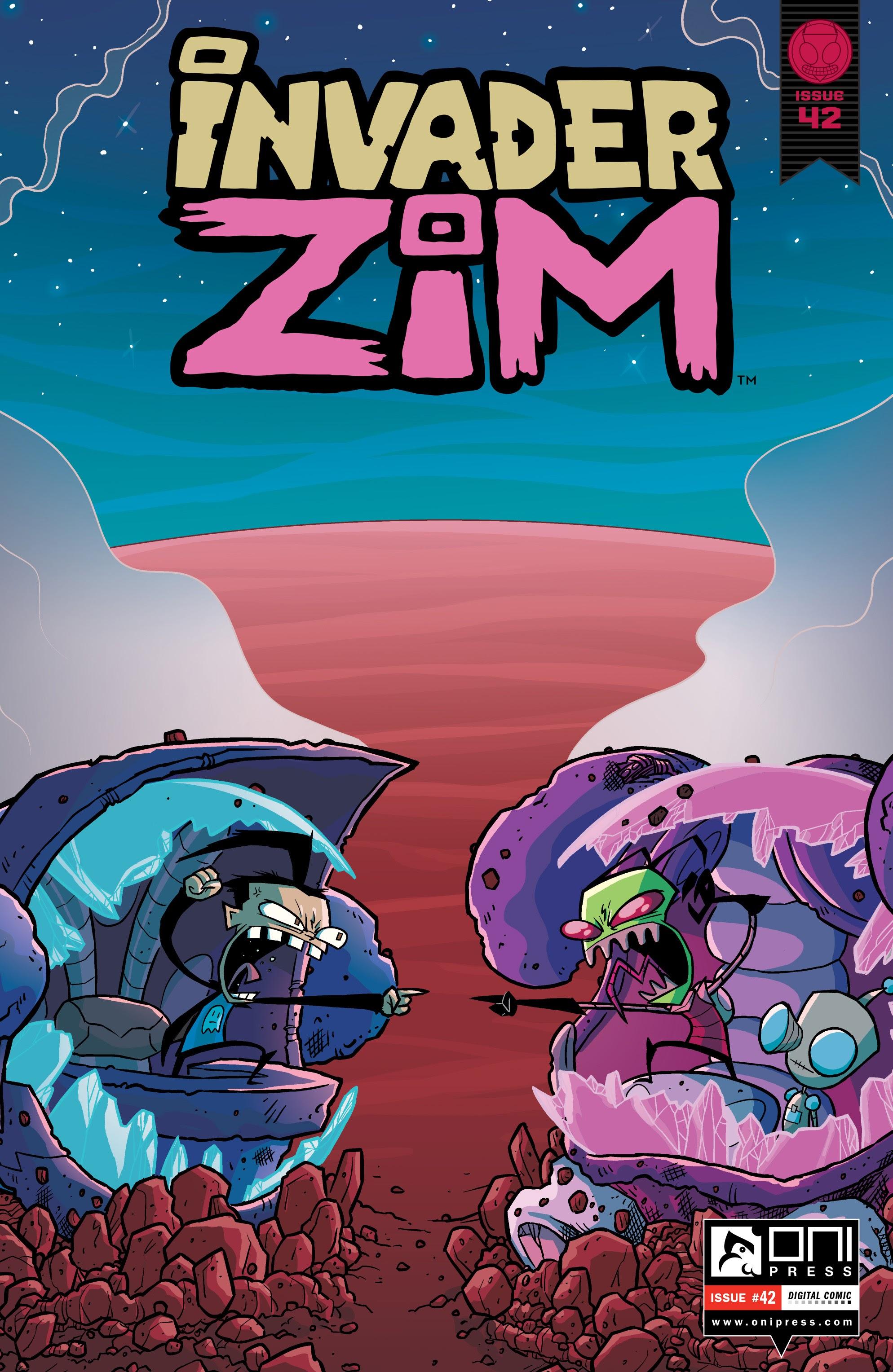 Invader Zim 42 Page 1