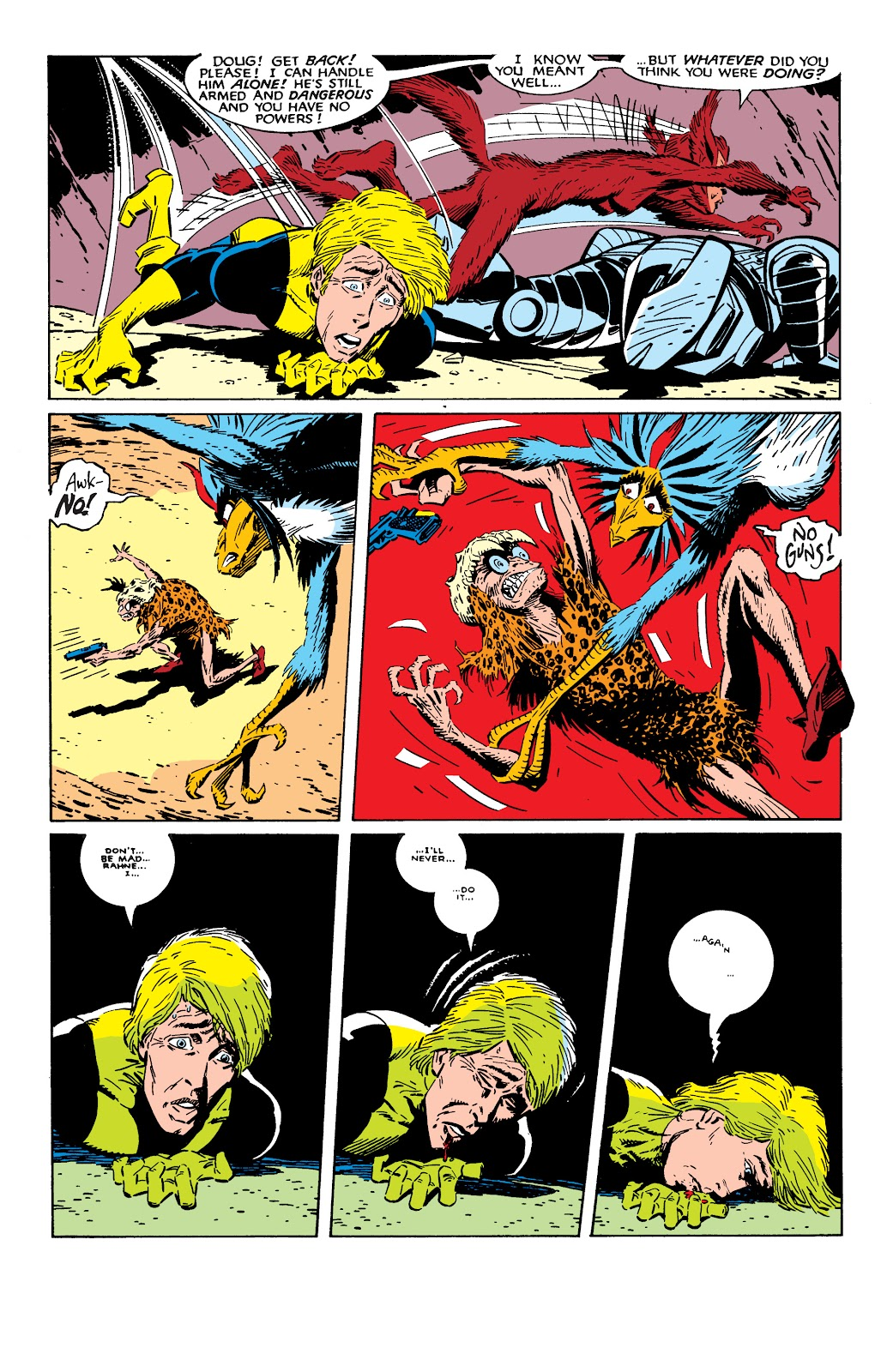 Read online X-Men Milestones: Fall of the Mutants comic -  Issue # TPB (Part 2) - 49