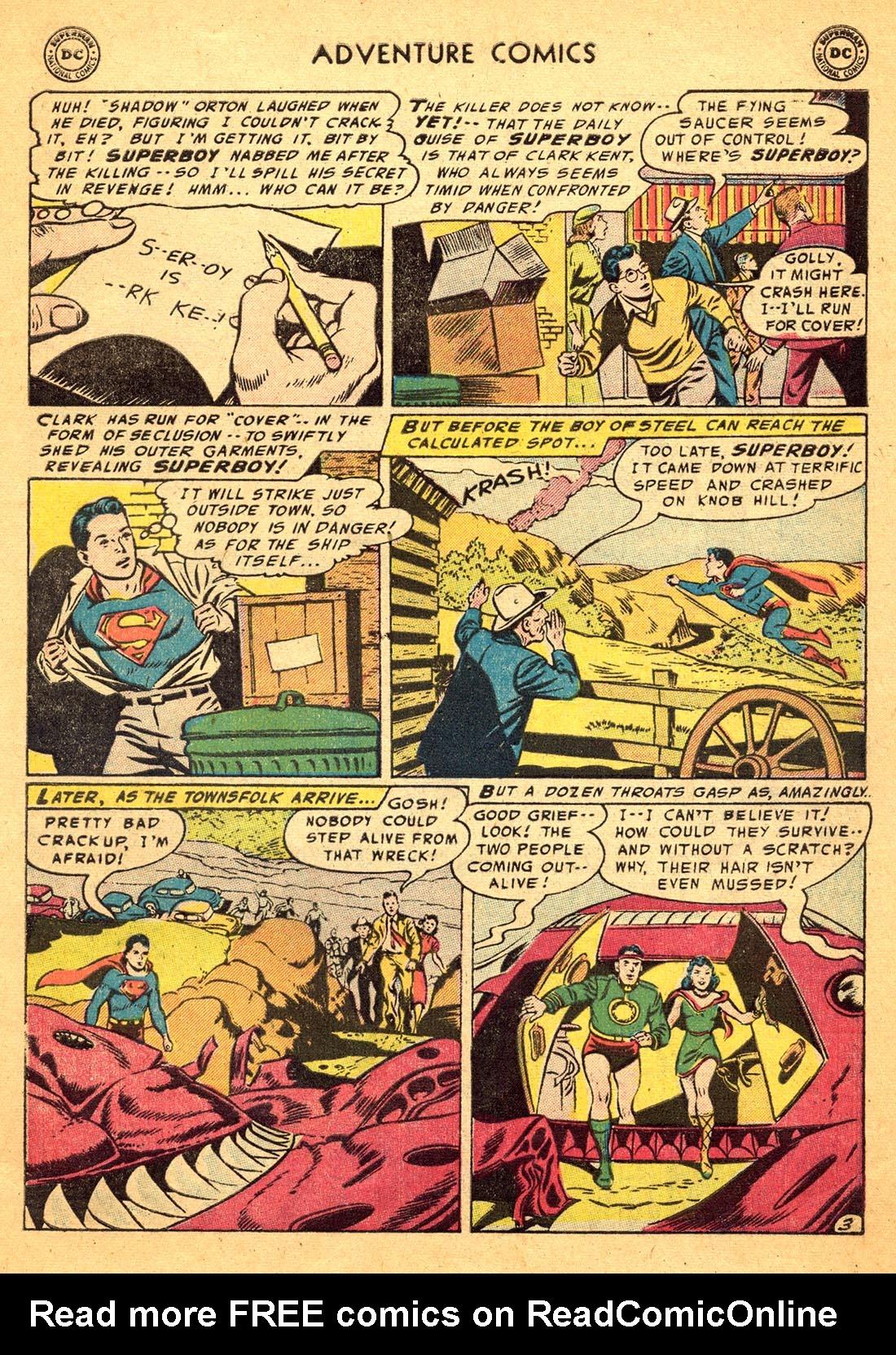 Read online Adventure Comics (1938) comic -  Issue #217 - 5
