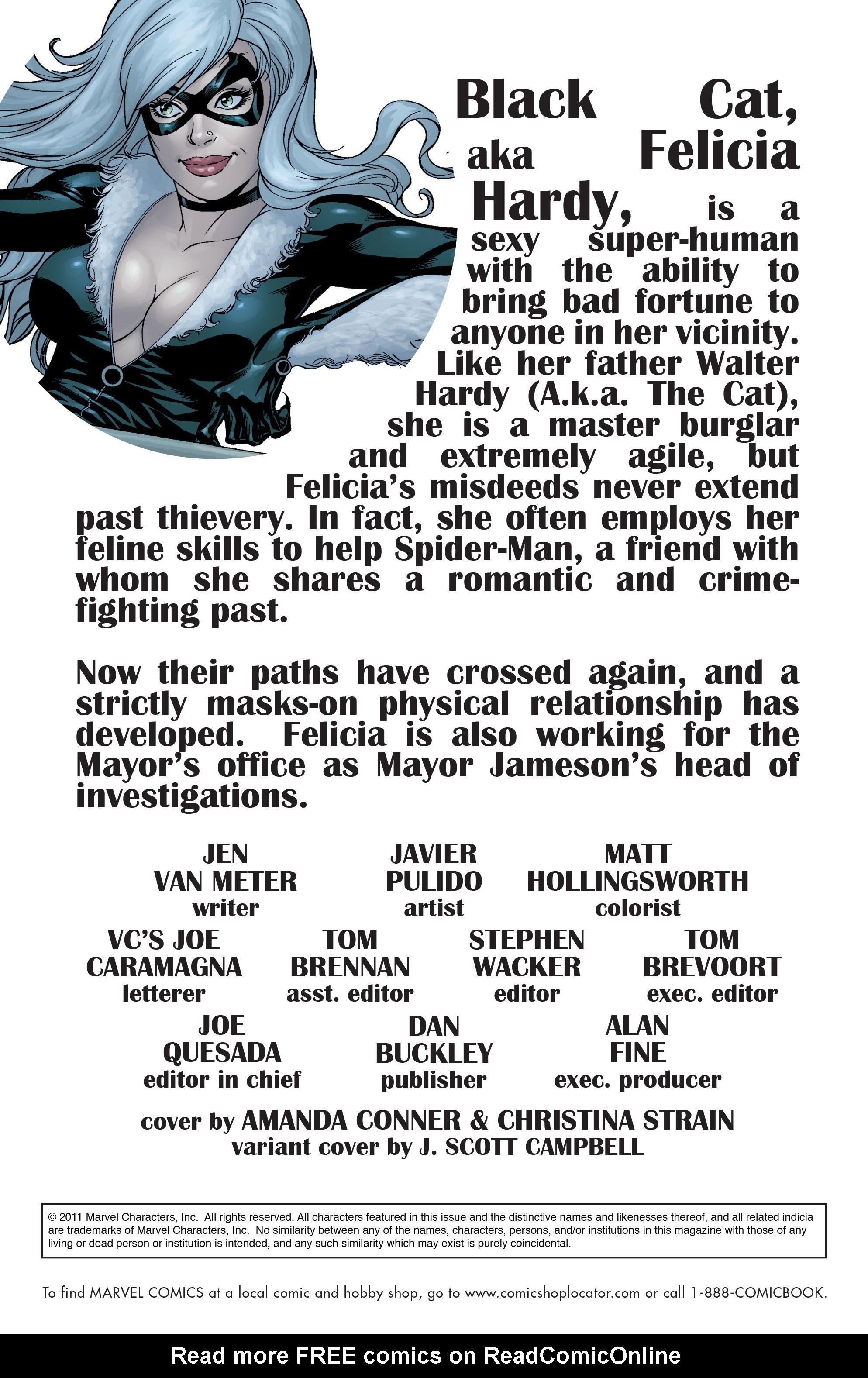 Read online Amazing Spider-Man Presents: Black Cat comic -  Issue #1 - 2