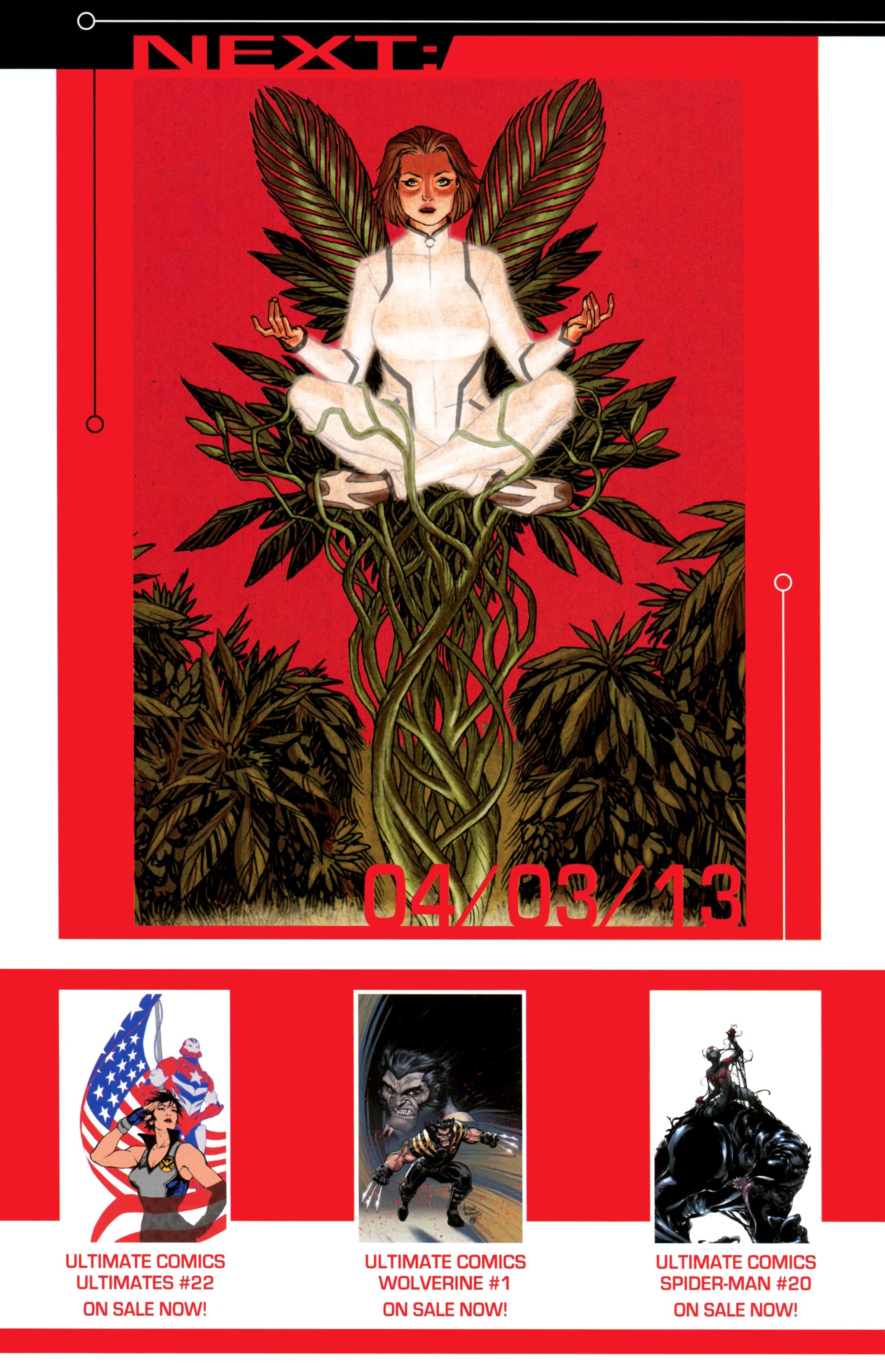 Read online Ultimate Comics X-Men comic -  Issue #24 - 22