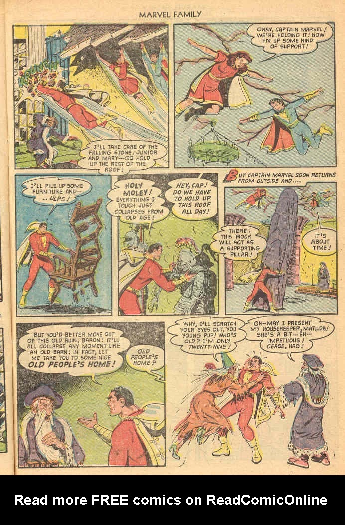 The Marvel Family issue 69 - Page 7