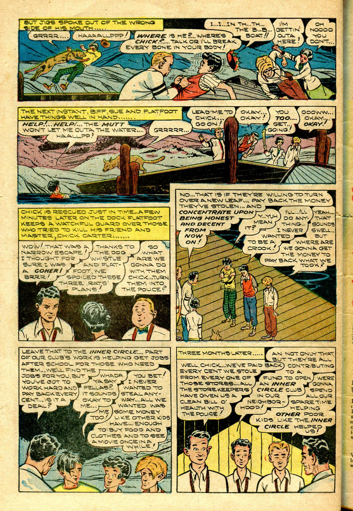 Read online Shadow Comics comic -  Issue #96 - 46