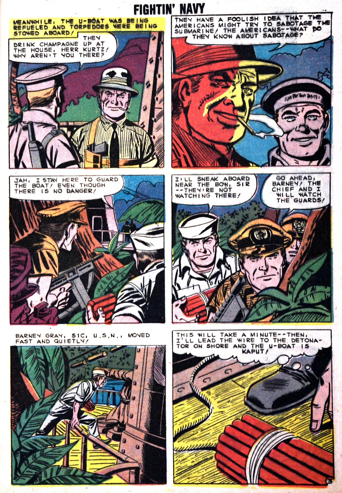 Read online Fightin' Navy comic -  Issue #89 - 13