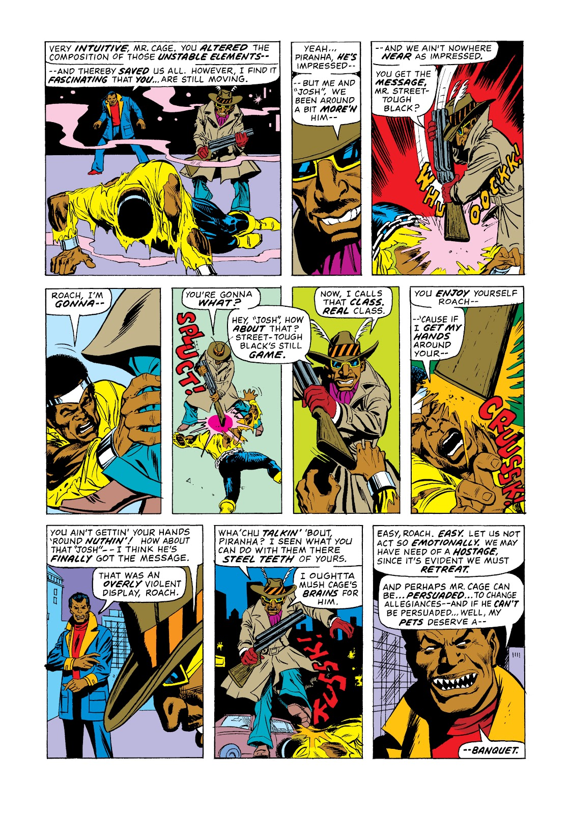 Read online Marvel Masterworks: Luke Cage, Power Man comic -  Issue # TPB 2 (Part 3) - 83