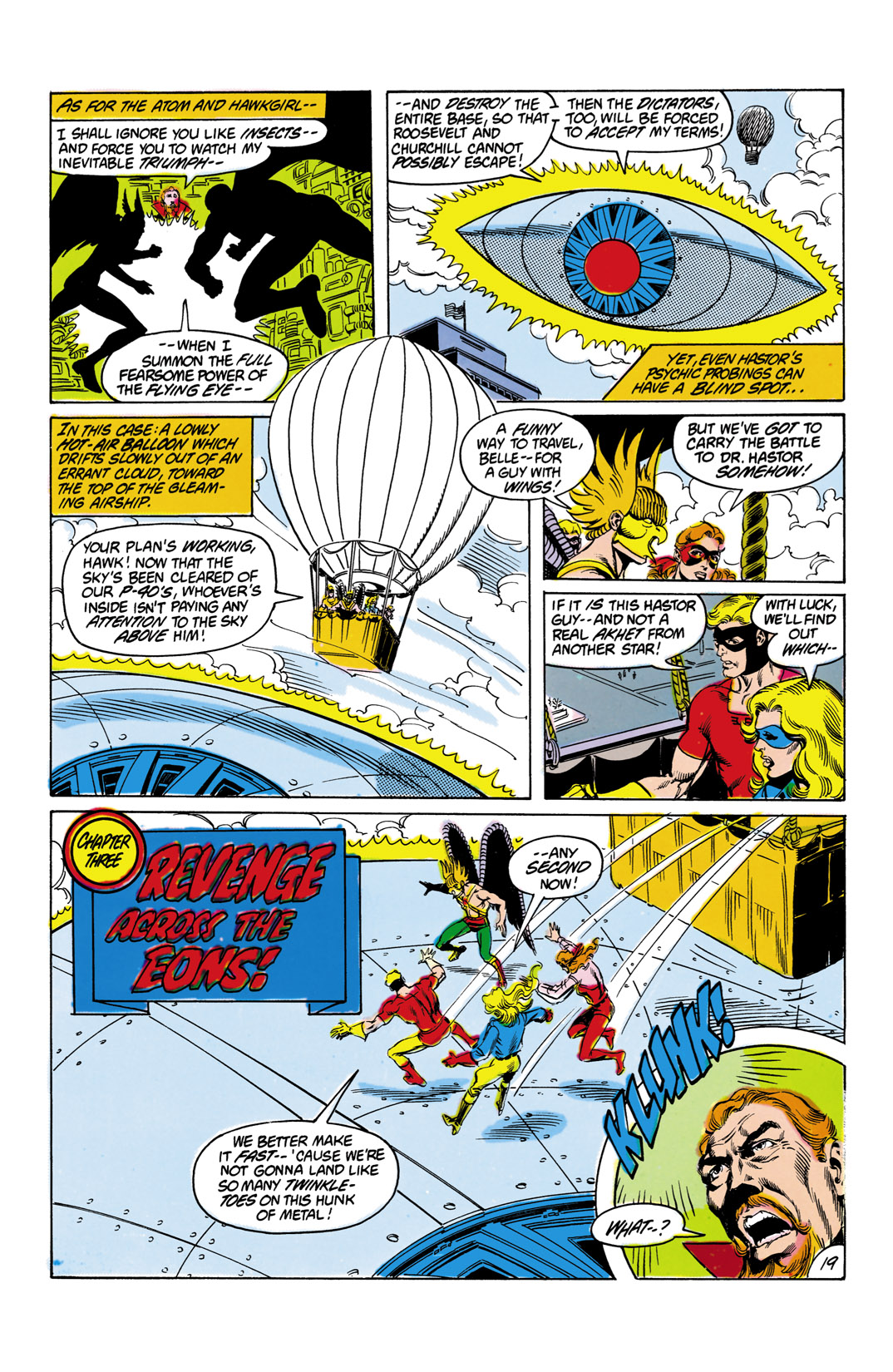 Read online All-Star Squadron comic -  Issue #12 - 20