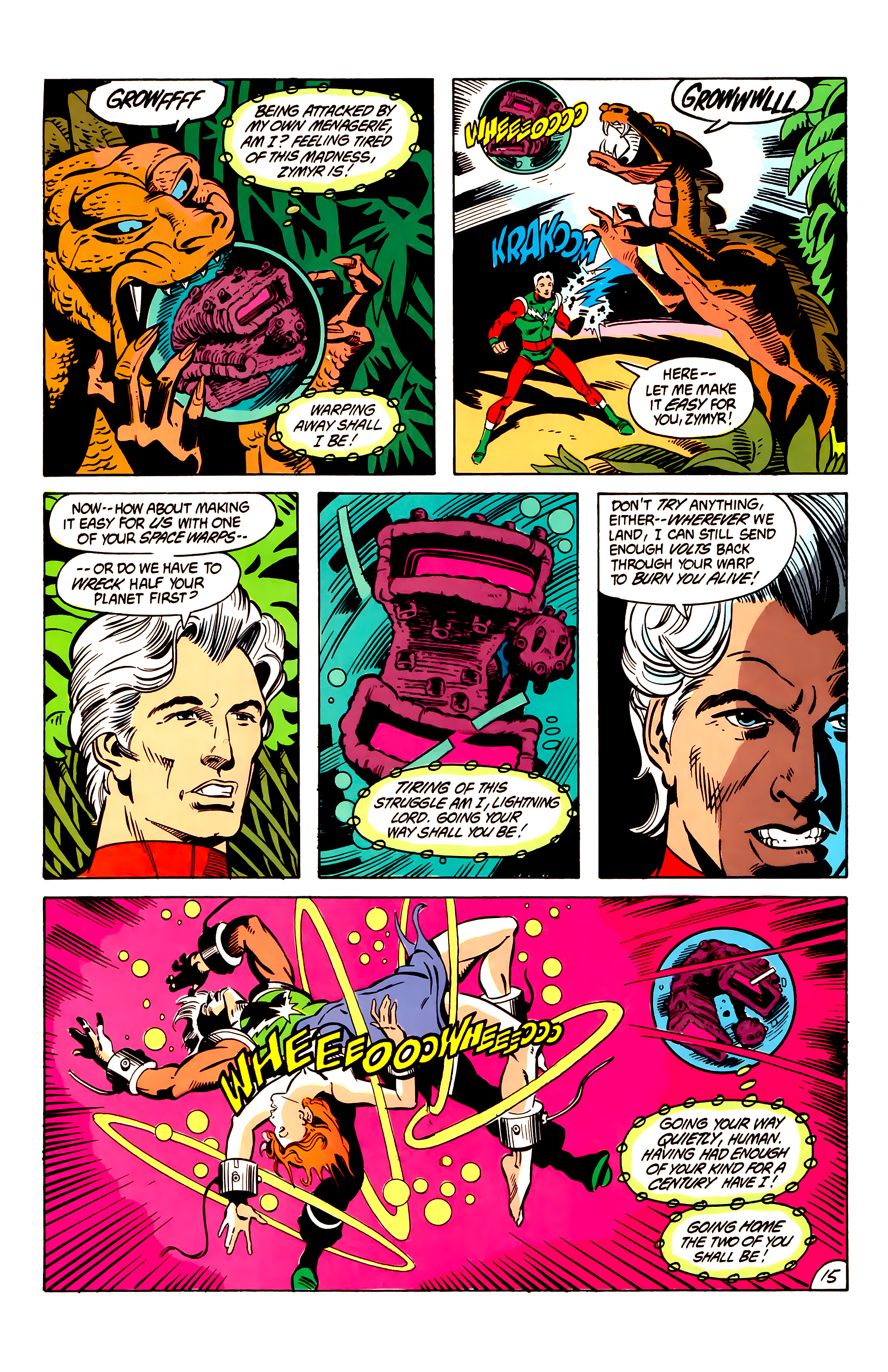 Legion of Super-Heroes (1984) 6 Page 15