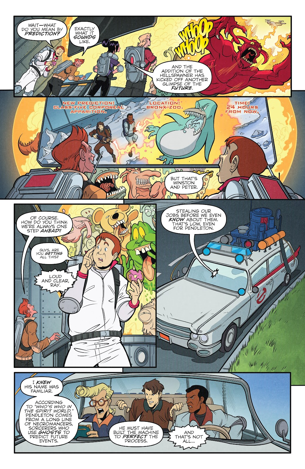 Read online Ghostbusters 35th Anniversary: The Real Ghostbusters comic -  Issue # Full - 18