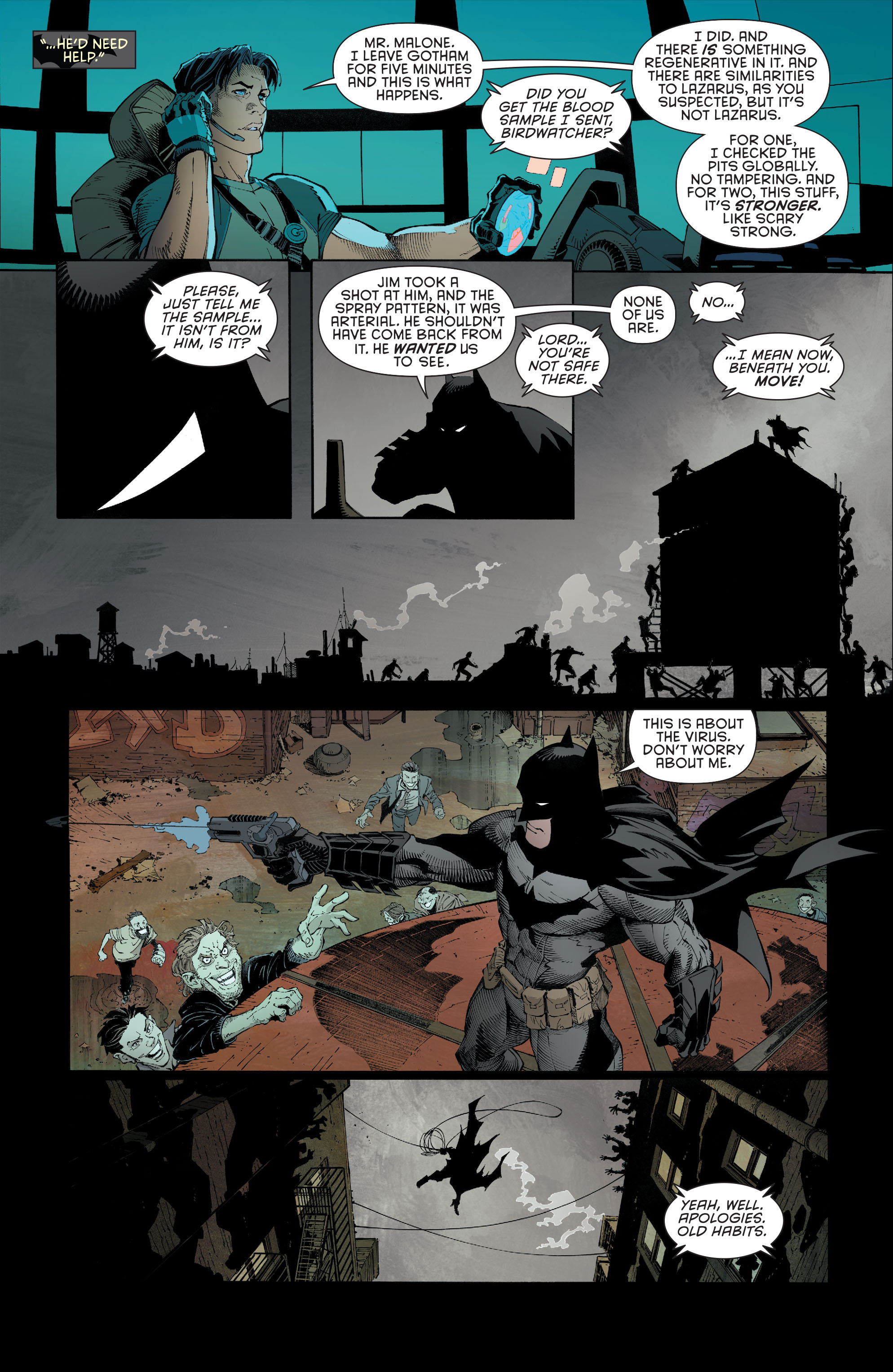 Read online Batman (2011) comic -  Issue # _TPB 7 - 85