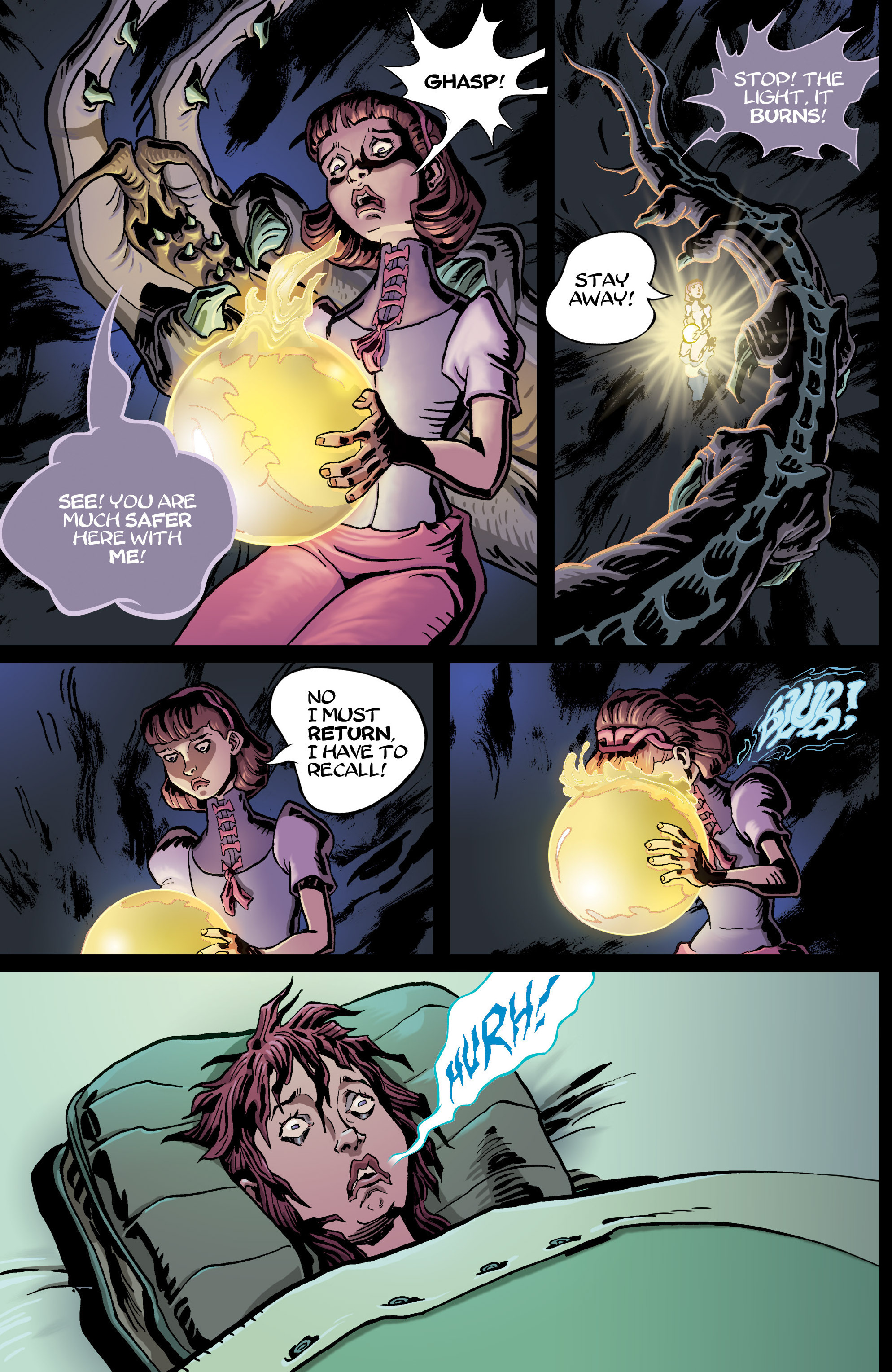 Read online 8House comic -  Issue #5 - 14