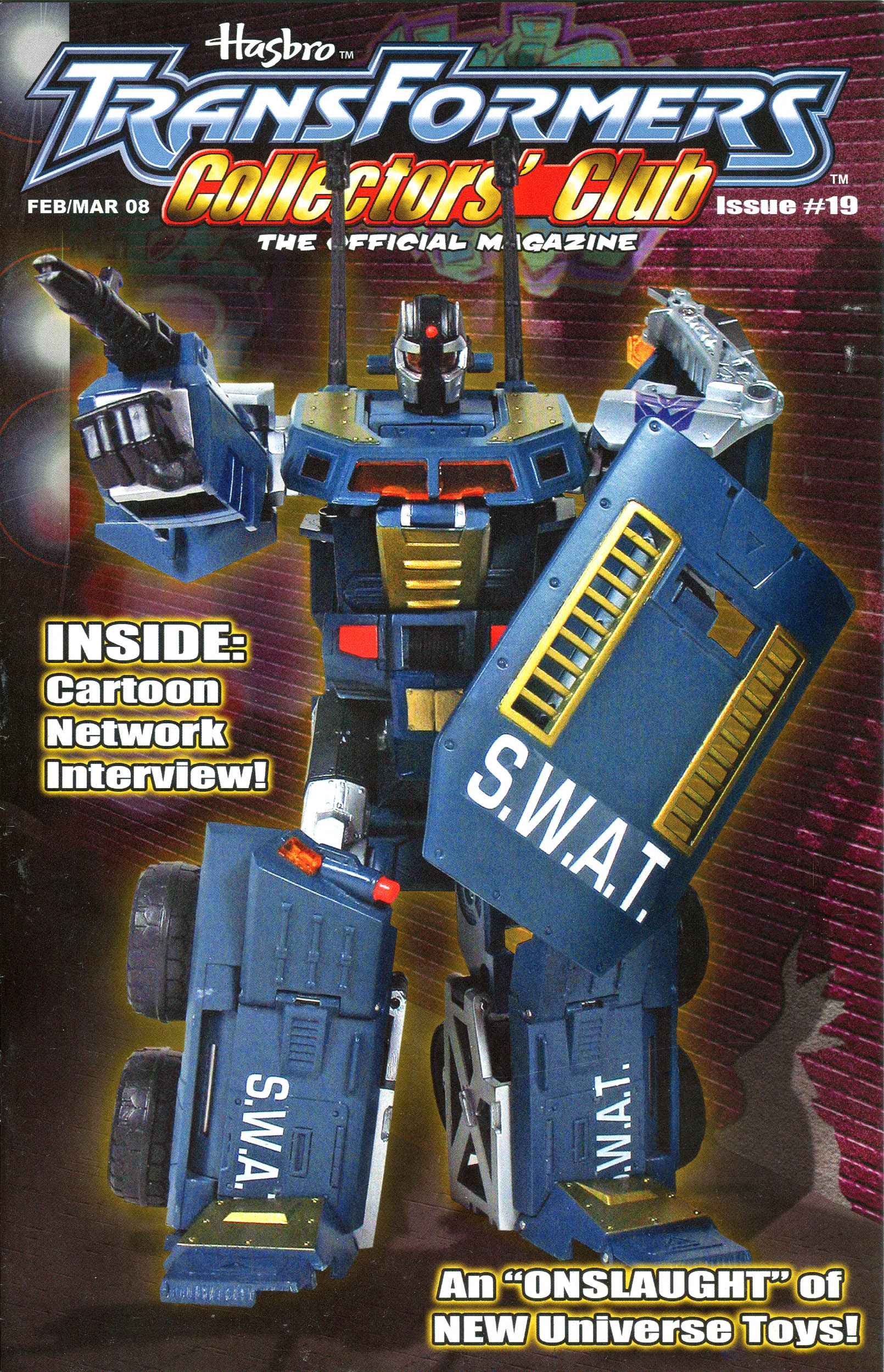 Read online Transformers: Collectors' Club comic -  Issue #19 - 1