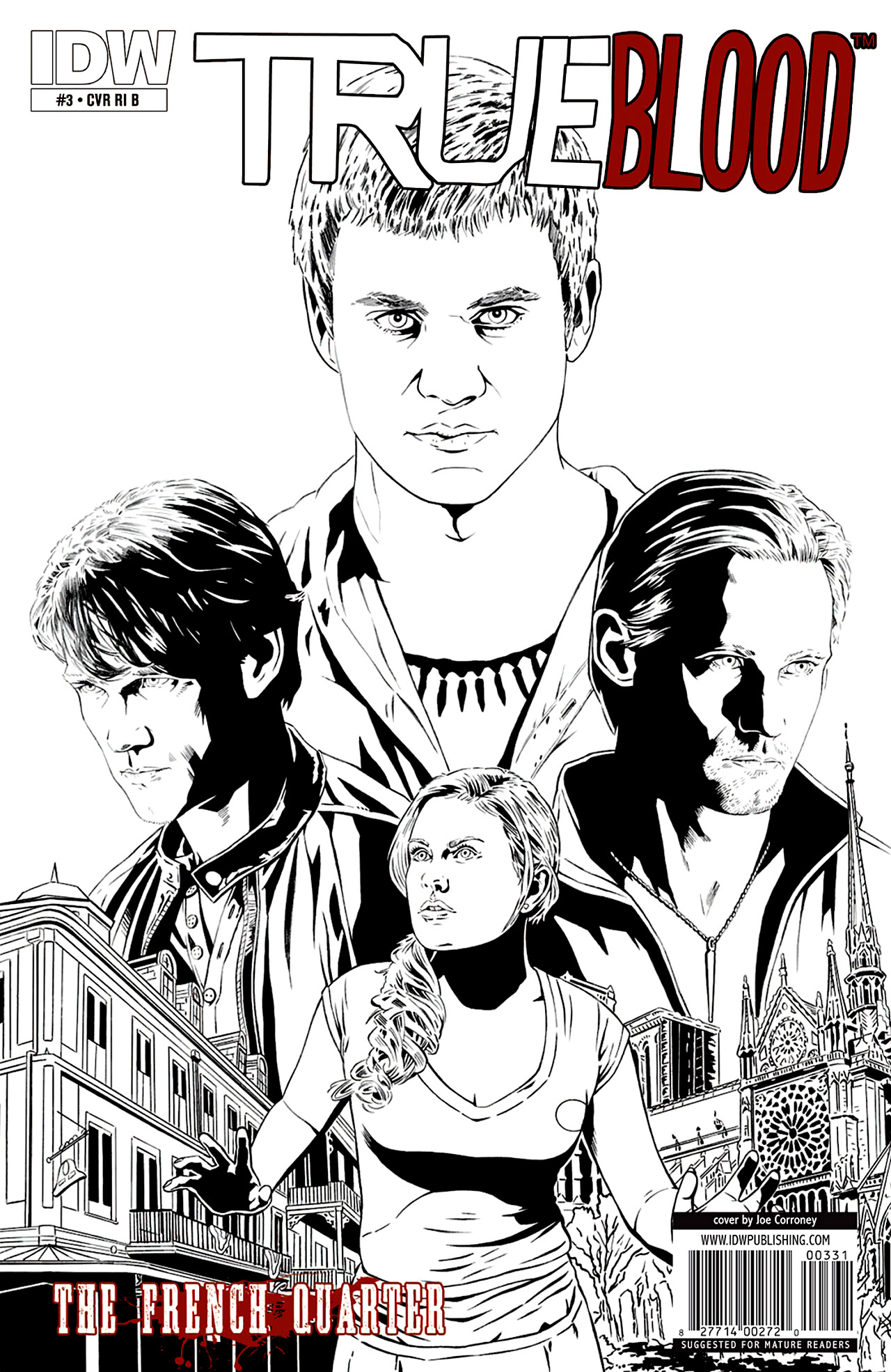 Read online True Blood: French Quarter comic -  Issue #3 - 4