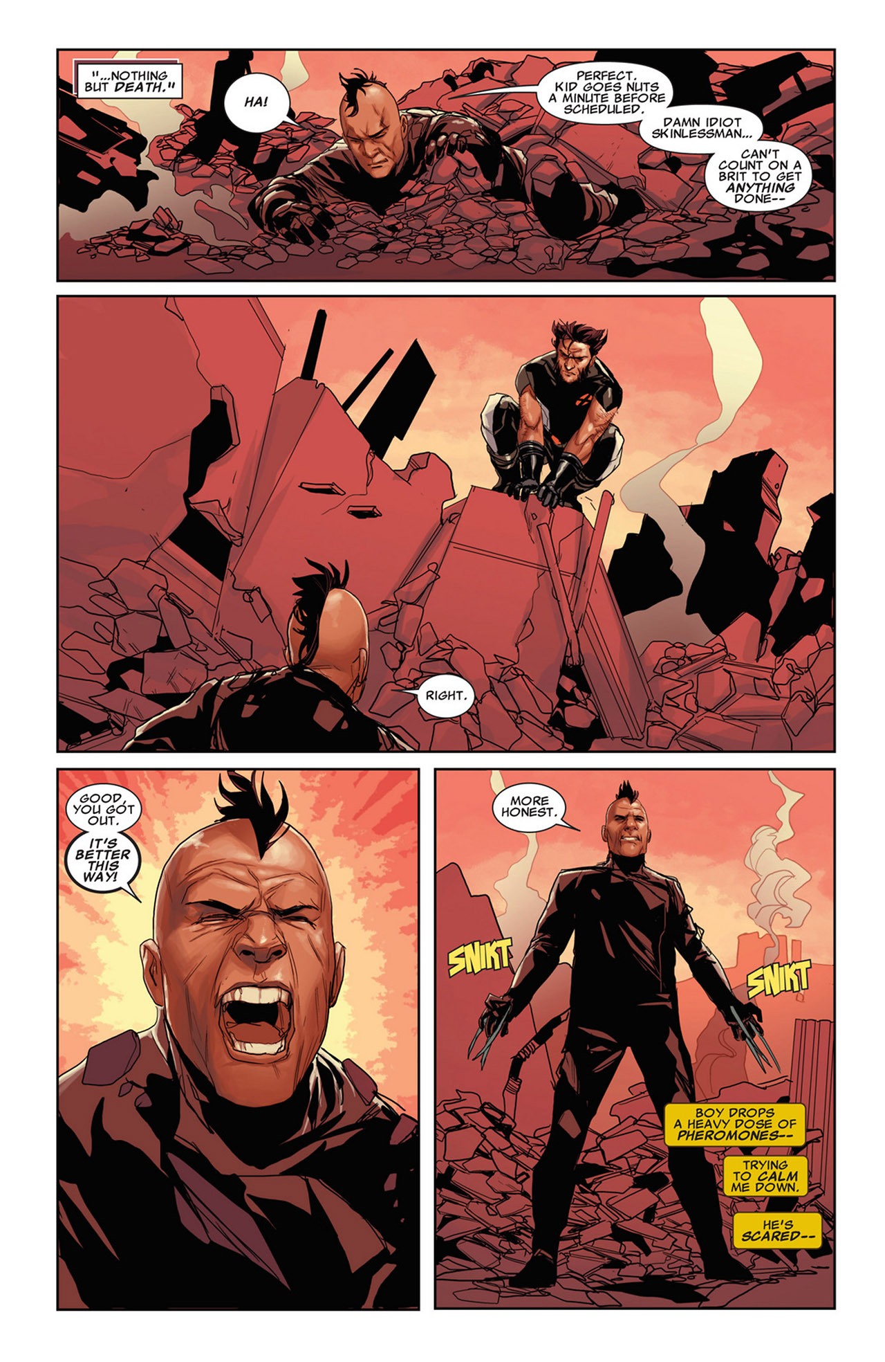 Read online Uncanny X-Force (2010) comic -  Issue #34 - 13