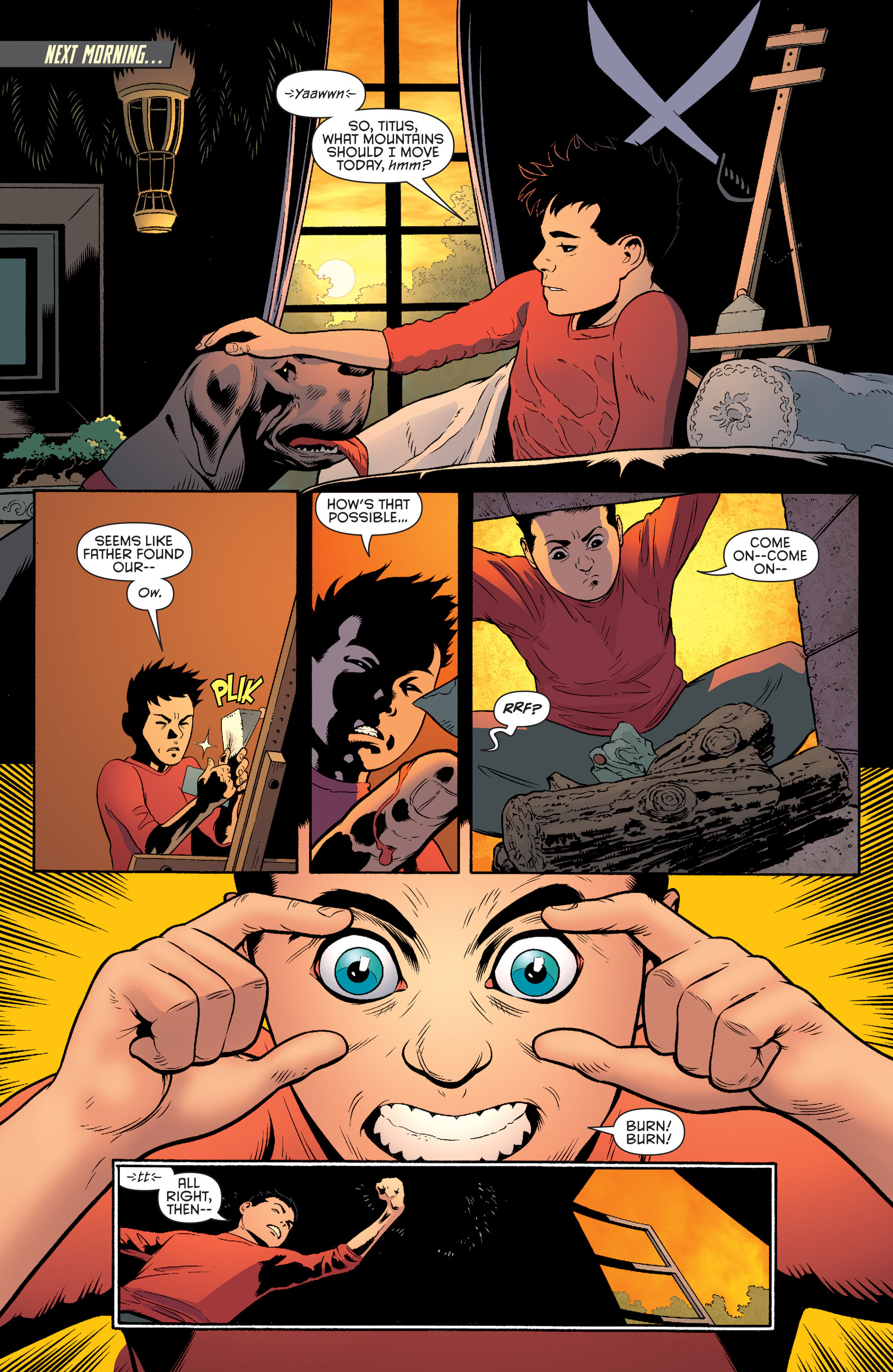 Read online Batman and Robin (2011) comic -  Issue #40 - 12
