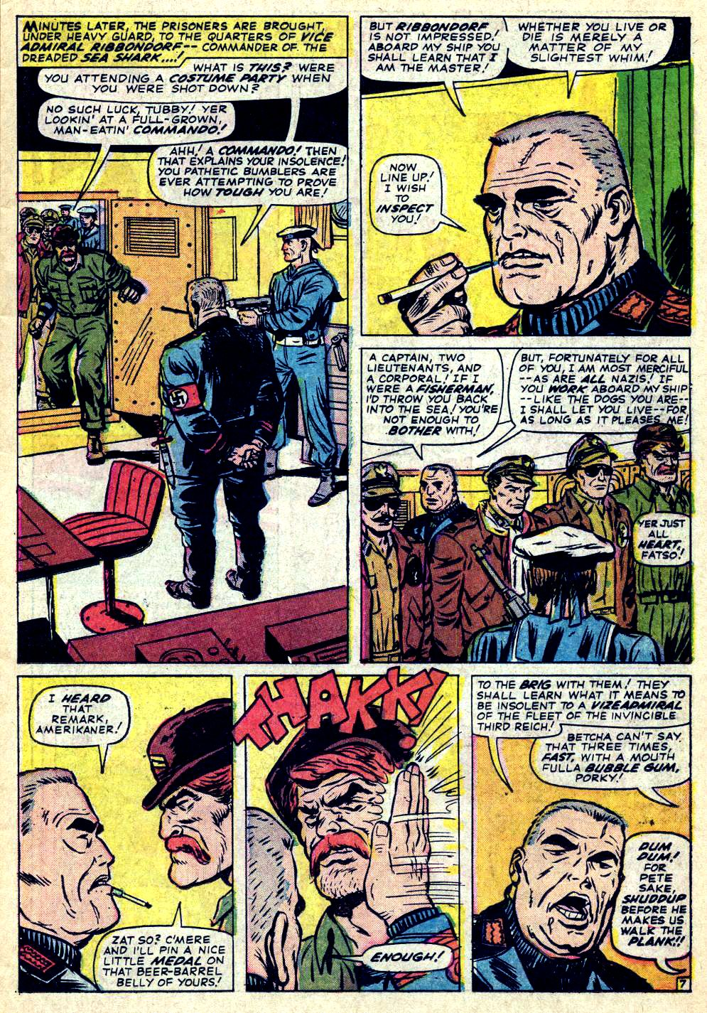 Read online Sgt. Fury comic -  Issue #26 - 11