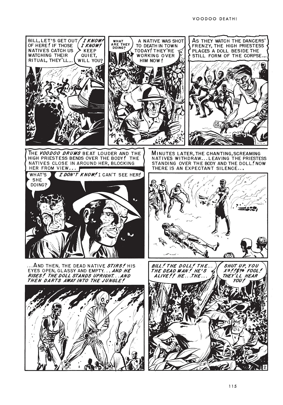 Read online Voodoo Vengeance and Other Stories comic -  Issue # TPB (Part 2) - 33