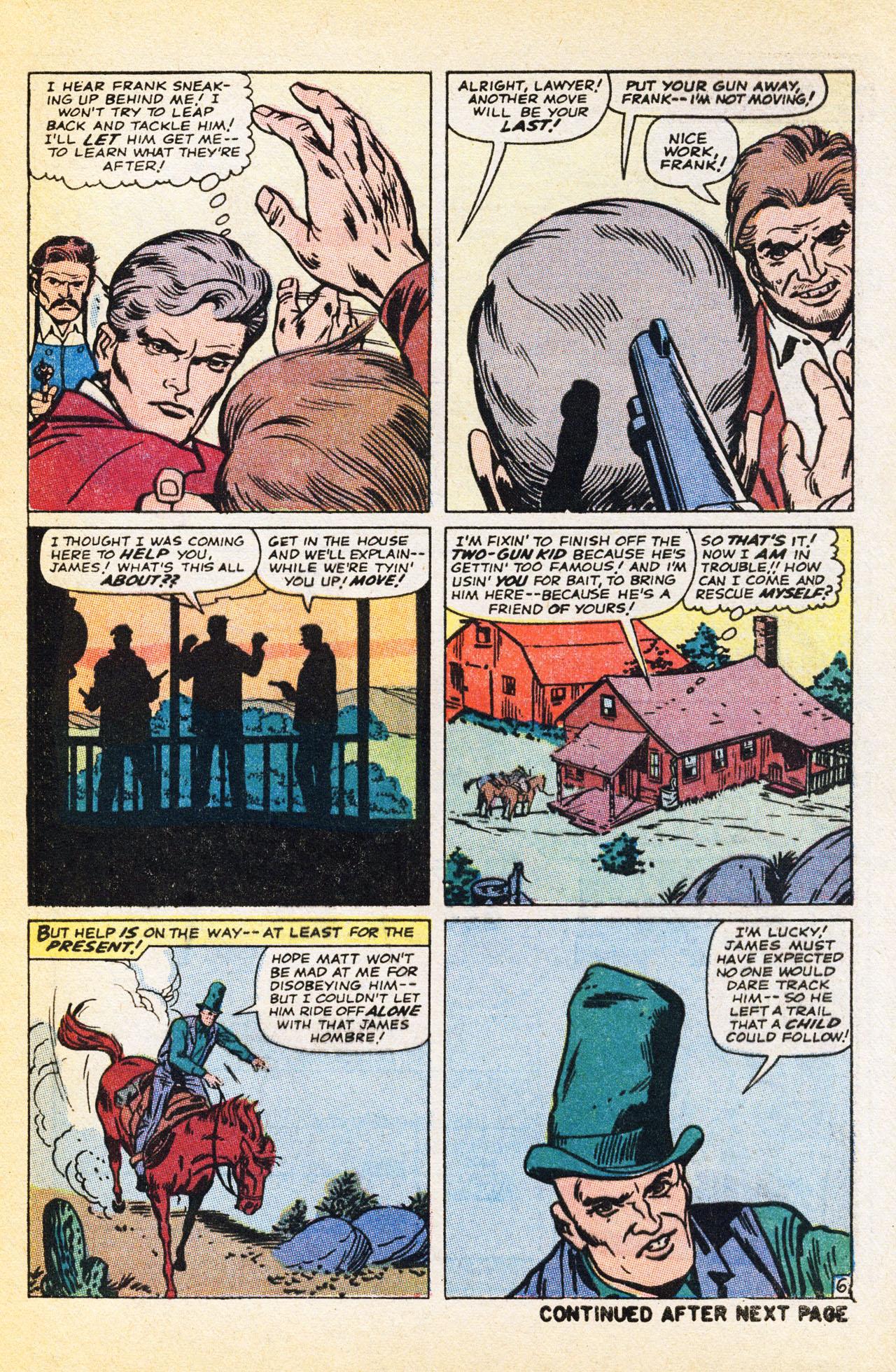 Read online Two-Gun Kid comic -  Issue #94 - 9