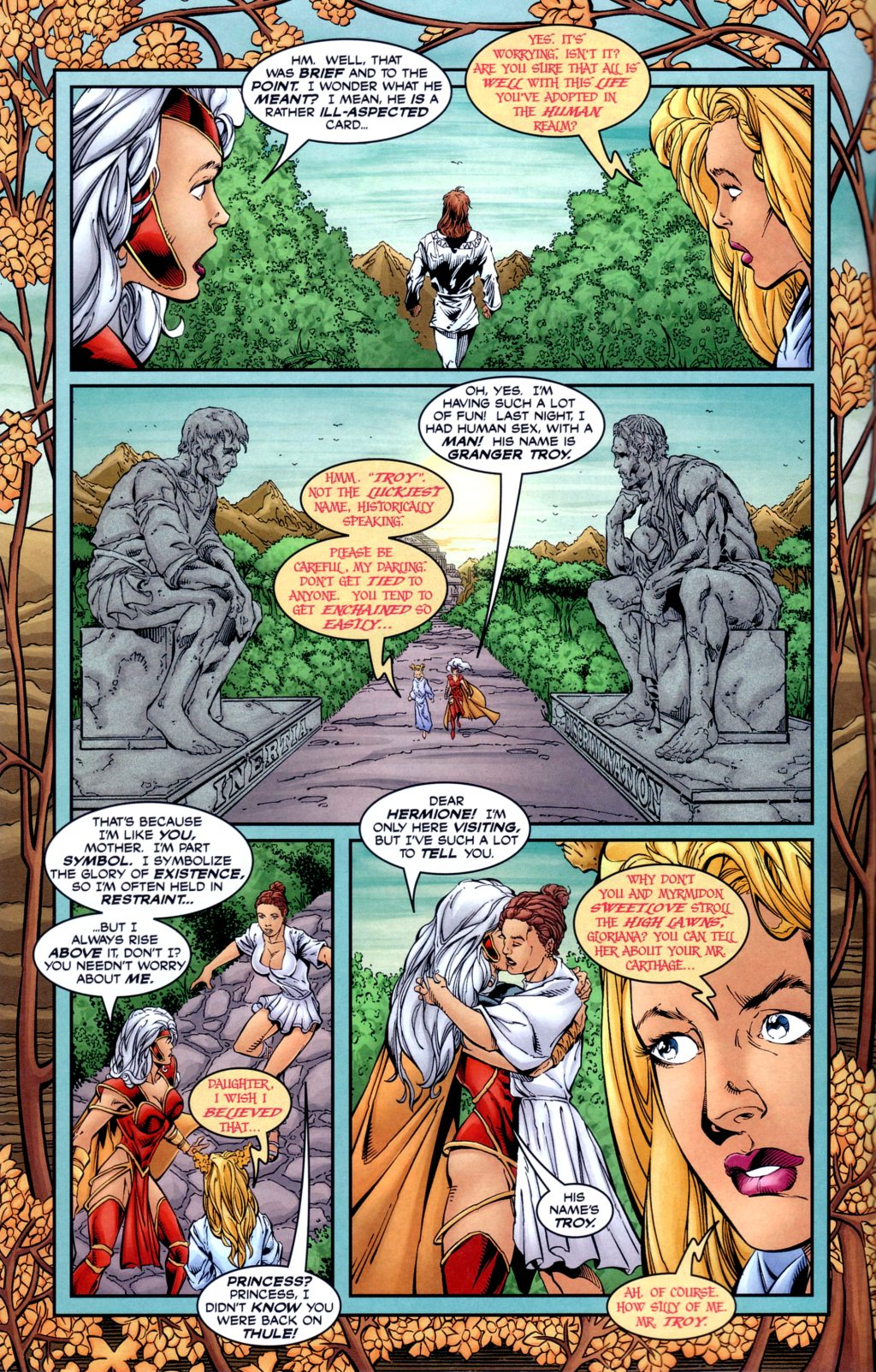 Read online Alan Moore's Glory comic -  Issue #2 - 8