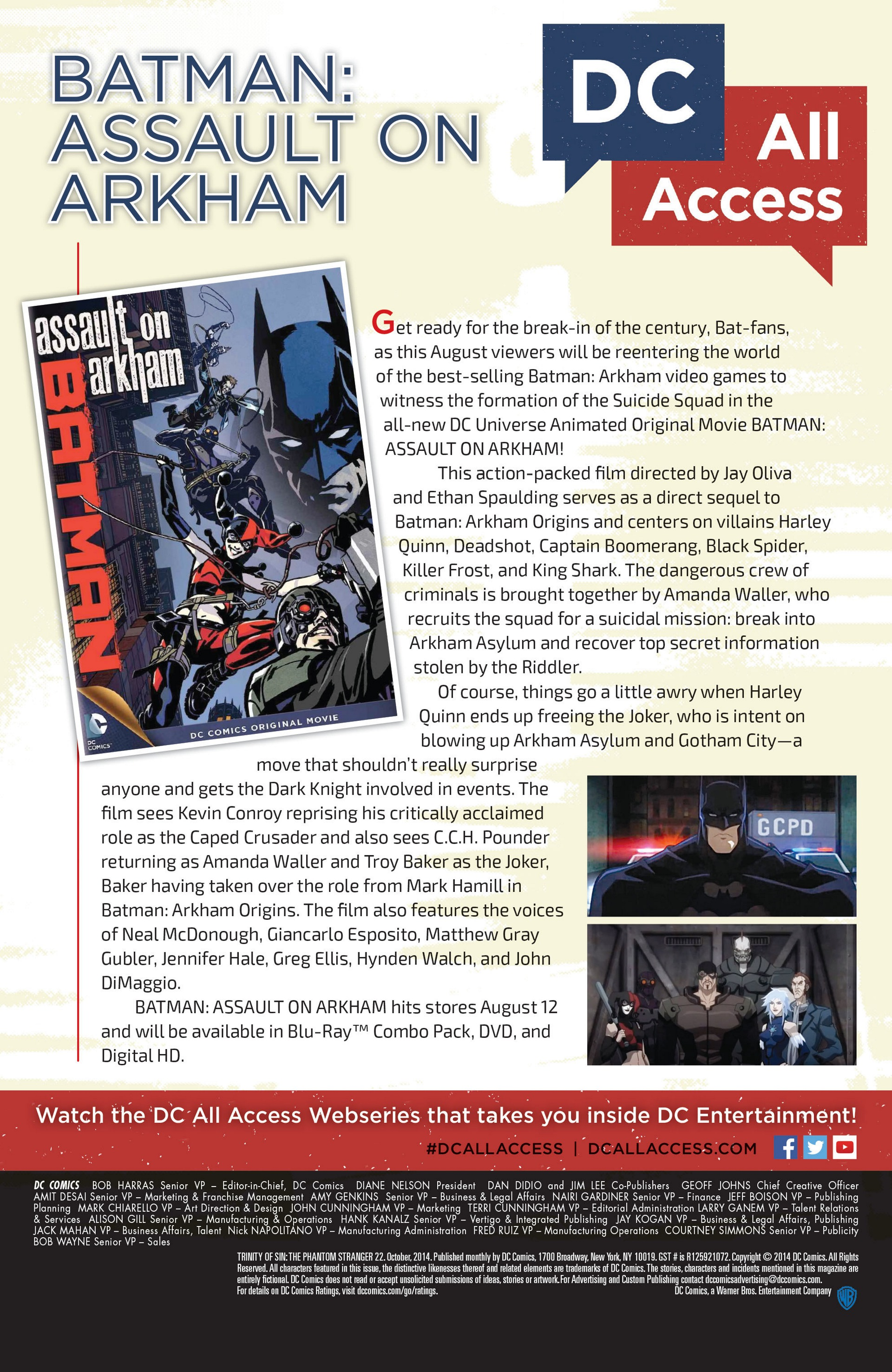 Read online Trinity of Sin: The Phantom Stranger comic -  Issue #22 - 30