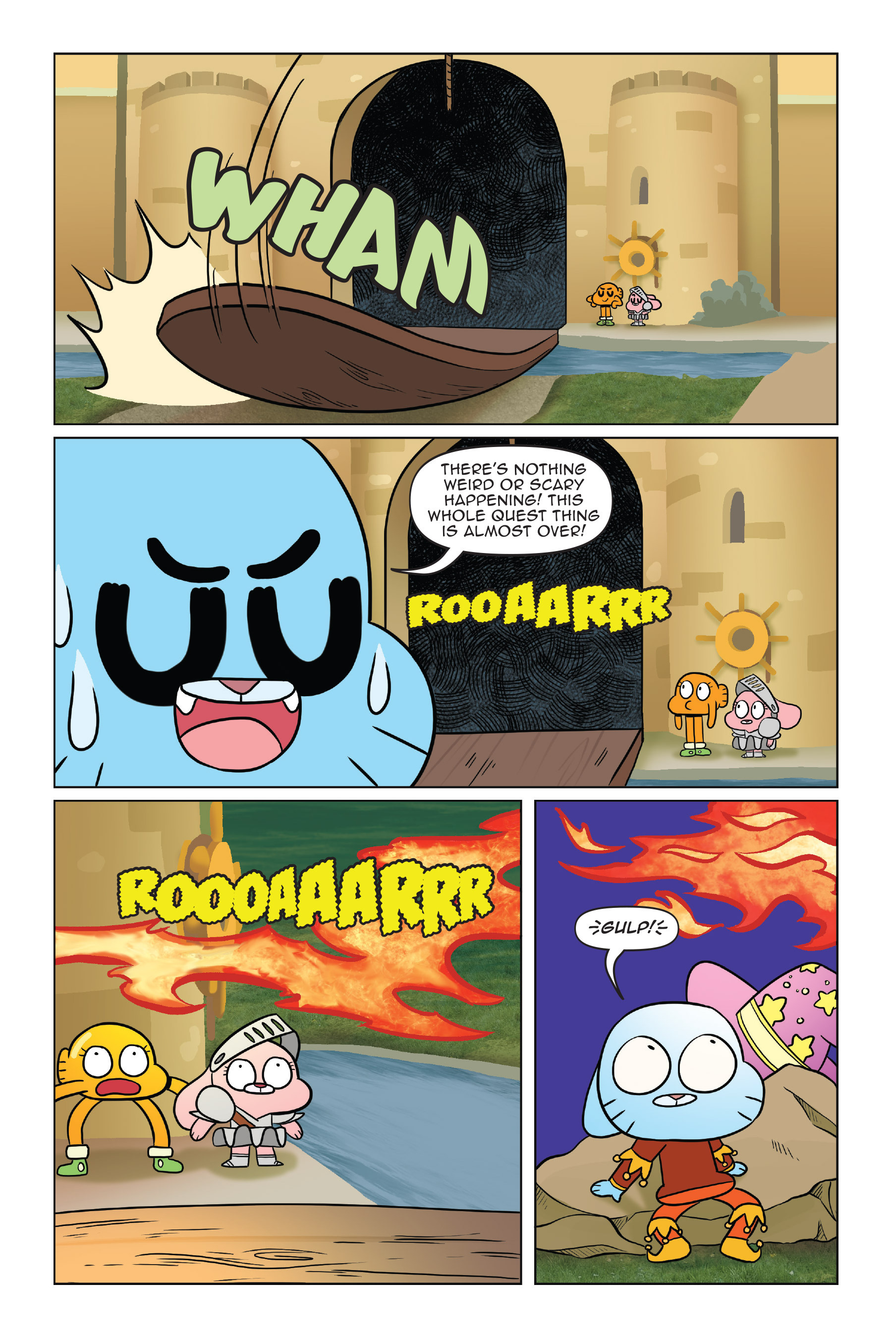 Read online The Amazing World of Gumball: Fairy Tale Trouble comic -  Issue # Full - 94