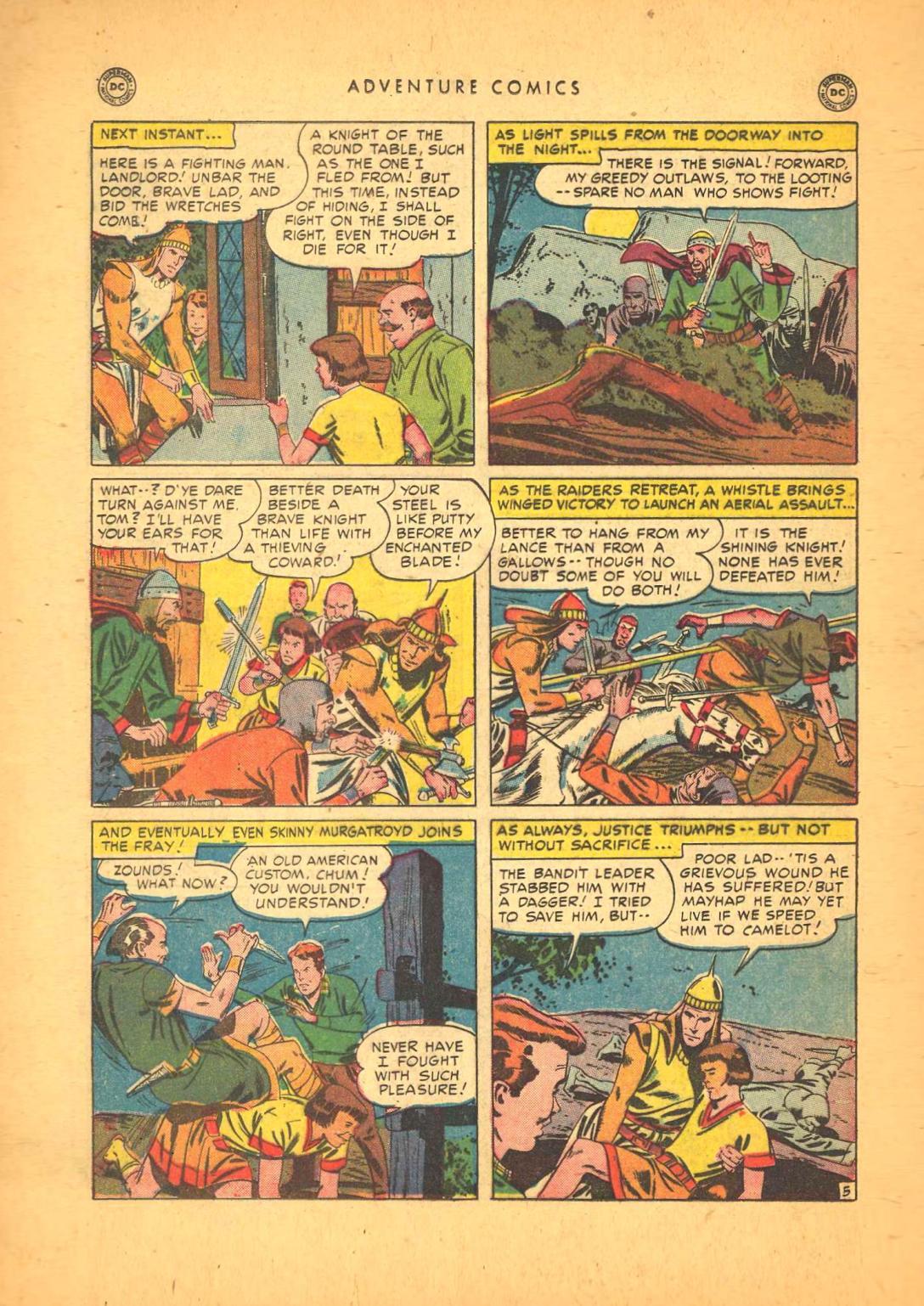 Read online Adventure Comics (1938) comic -  Issue #148 - 36