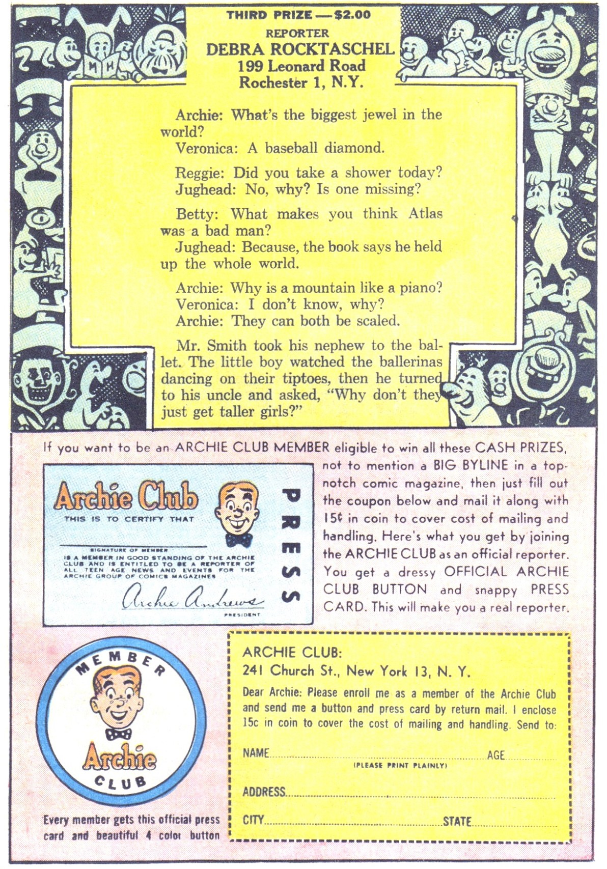 Read online Archie (1960) comic -  Issue #150 - 27