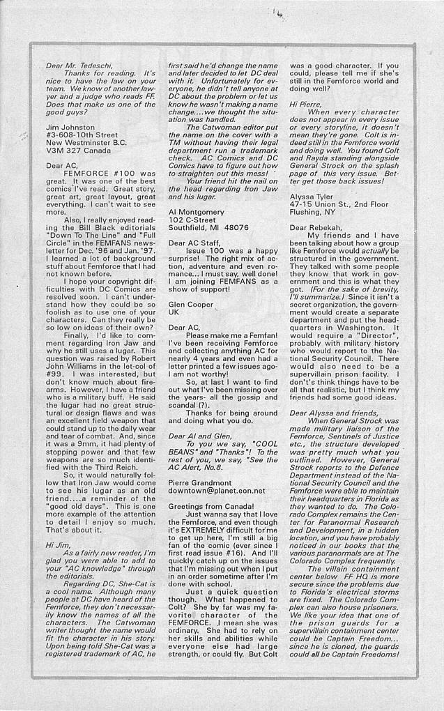 Femforce Issue #101 #101 - English 34