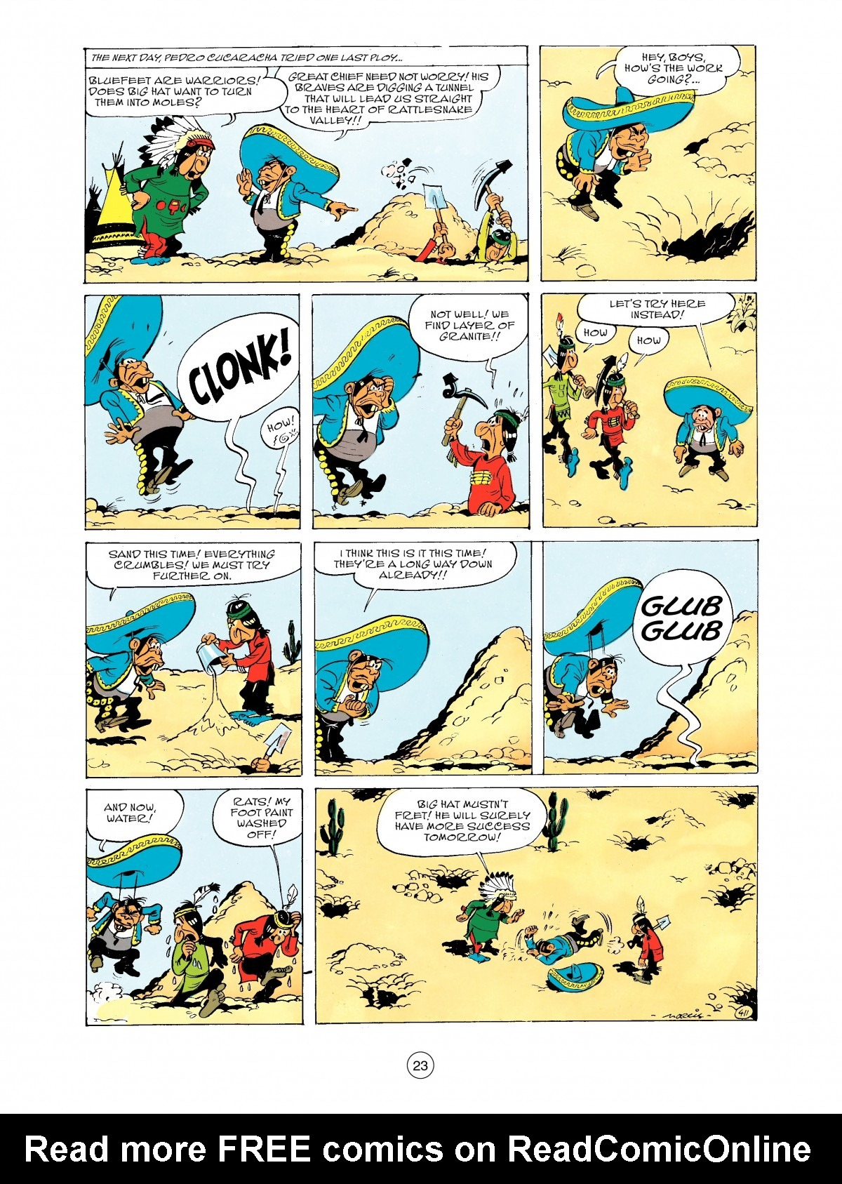 Read online A Lucky Luke Adventure comic -  Issue #43 - 23