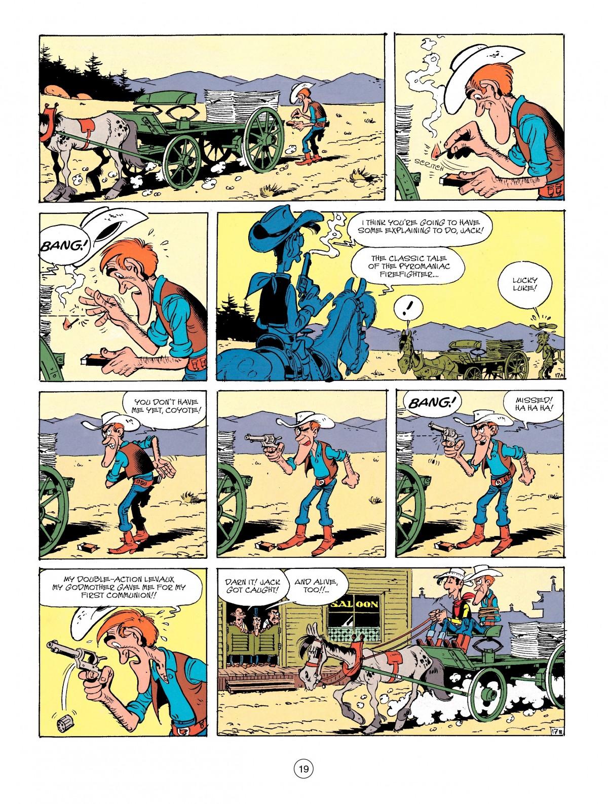 Read online A Lucky Luke Adventure comic -  Issue #41 - 19