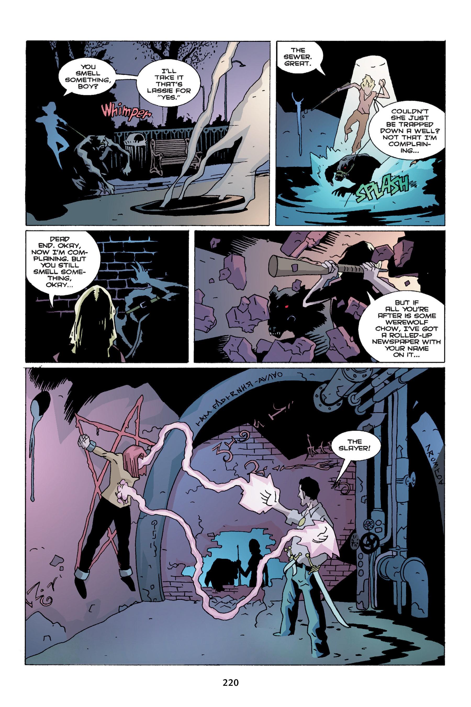 Read online Buffy the Vampire Slayer: Omnibus comic -  Issue # TPB 4 - 218