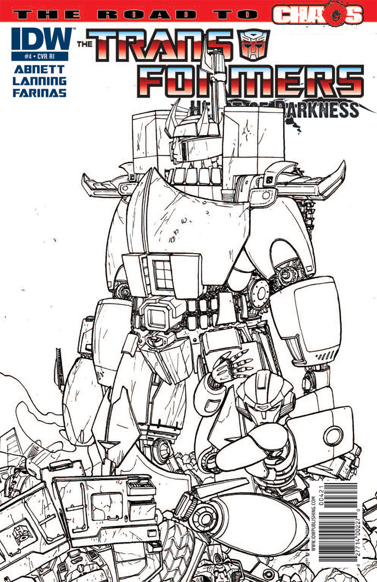 Read online Transformers: Heart of Darkness comic -  Issue #4 - 4