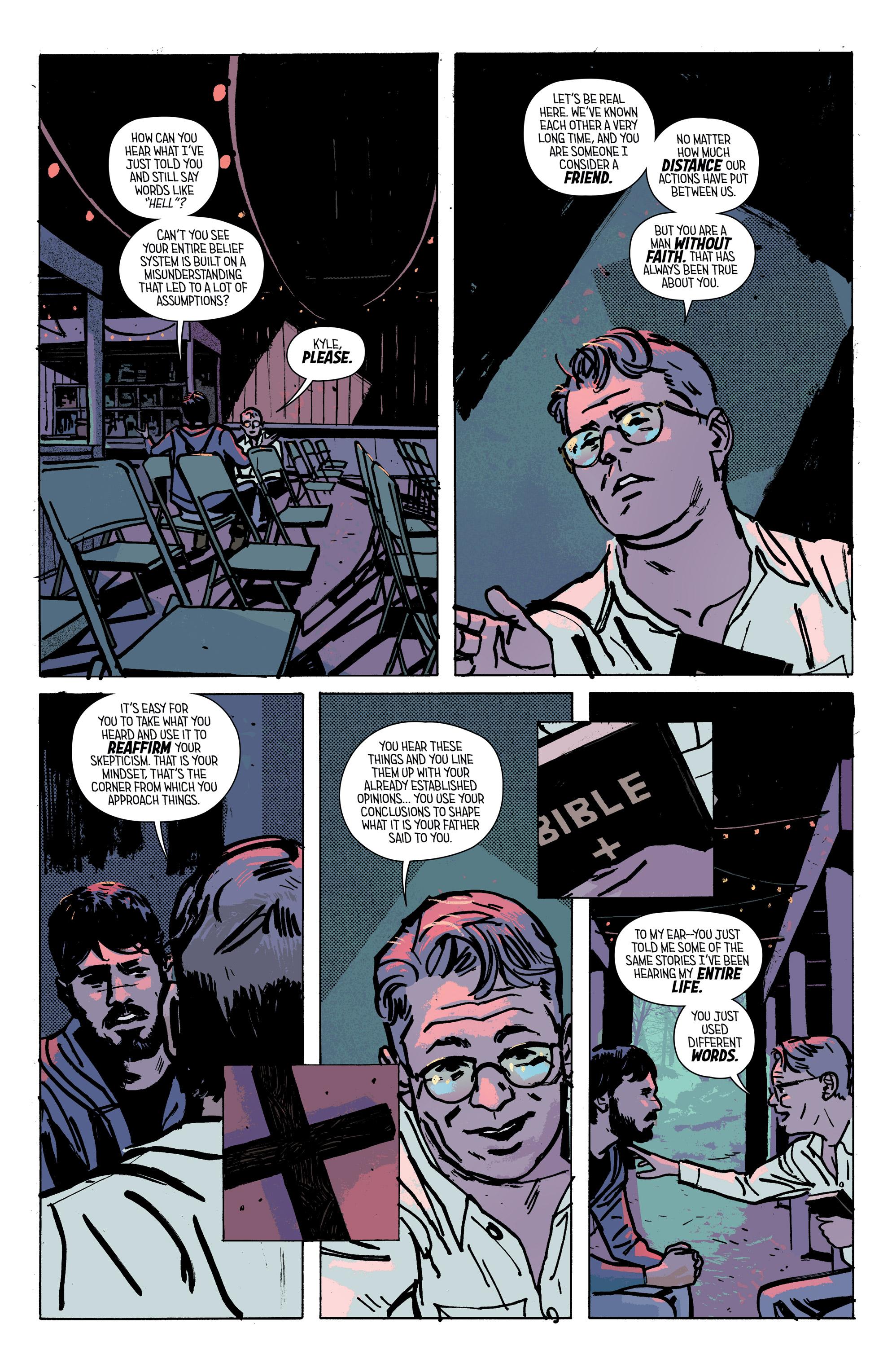 Read online Outcast by Kirkman & Azaceta comic -  Issue #28 - 19