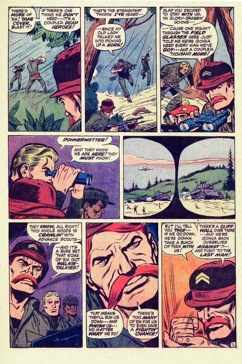 Read online Sgt. Fury comic -  Issue #96 - 17