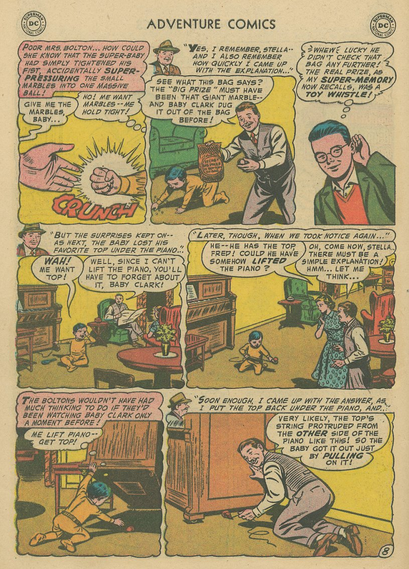 Read online Adventure Comics (1938) comic -  Issue #221 - 9