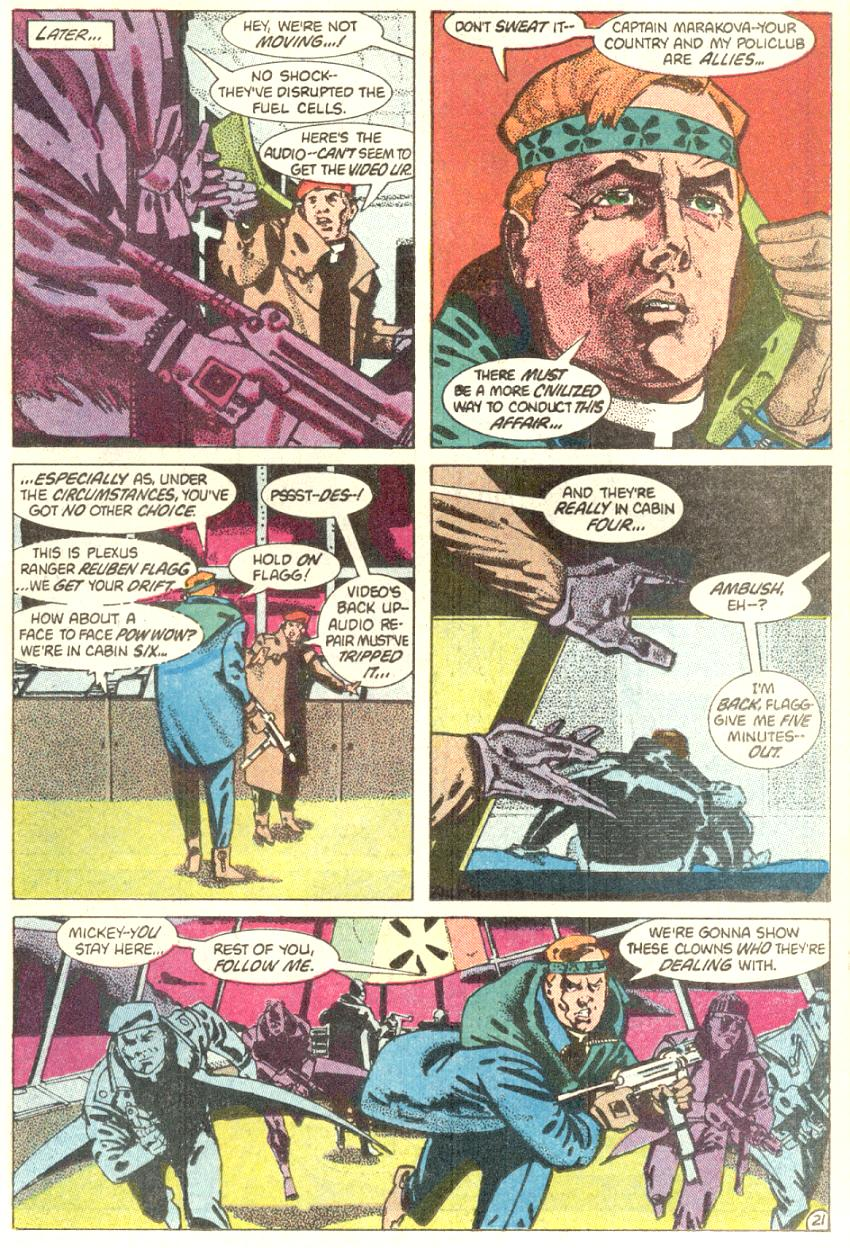 Read online American Flagg! comic -  Issue #4 - 22