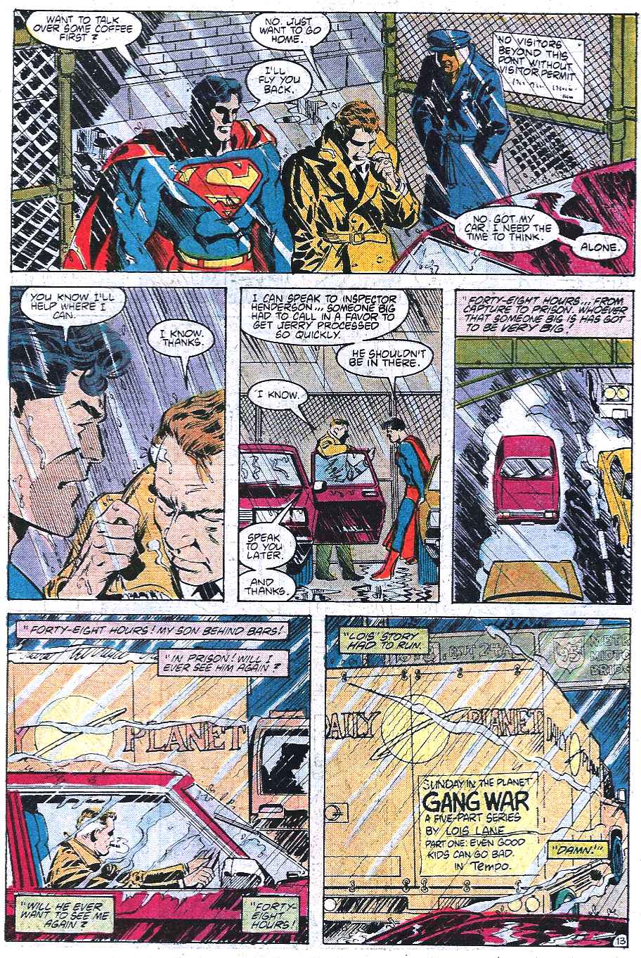 Read online Adventures of Superman (1987) comic -  Issue #433 - 14
