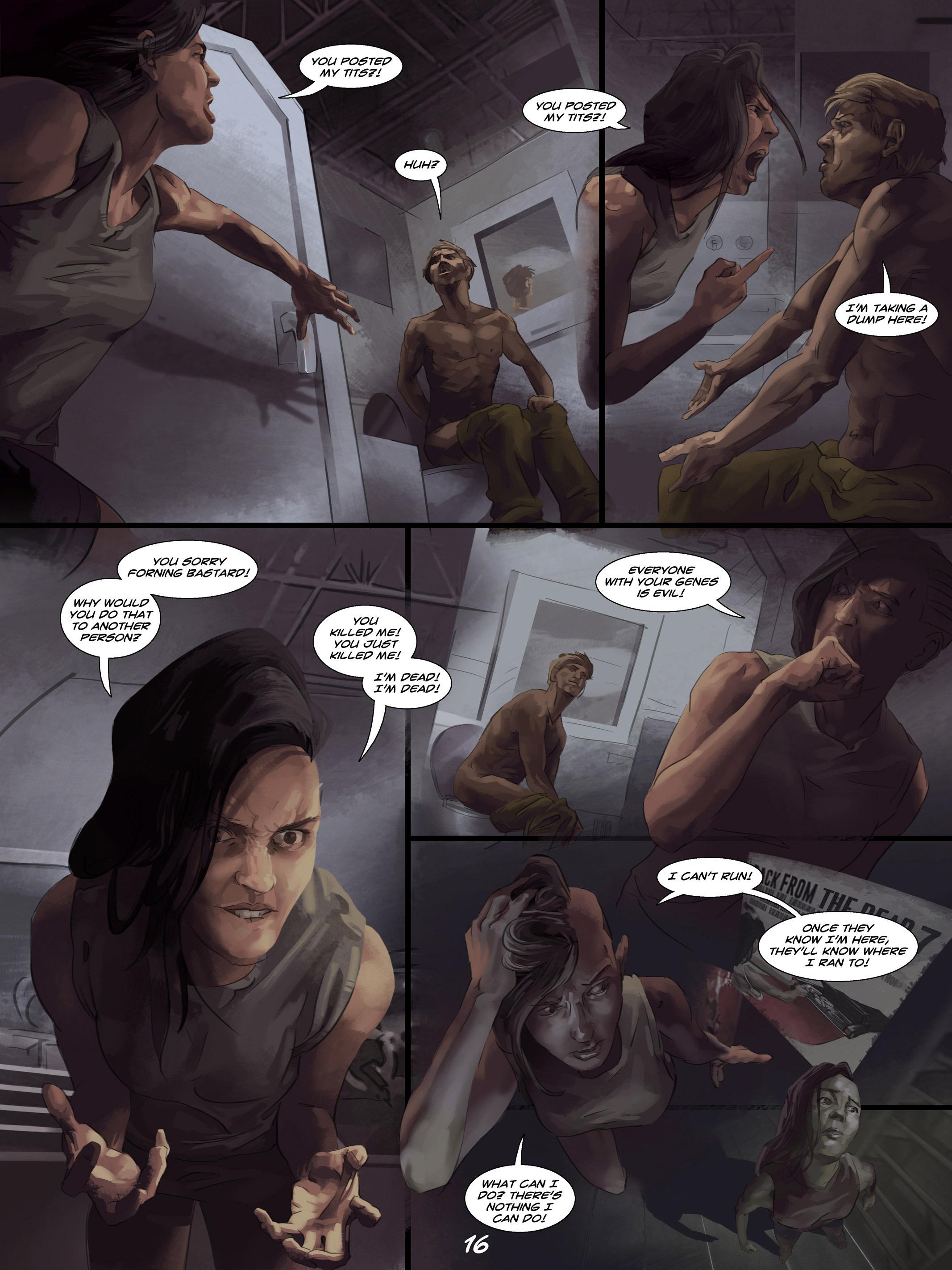 Read online Wynter comic -  Issue #4 - 17