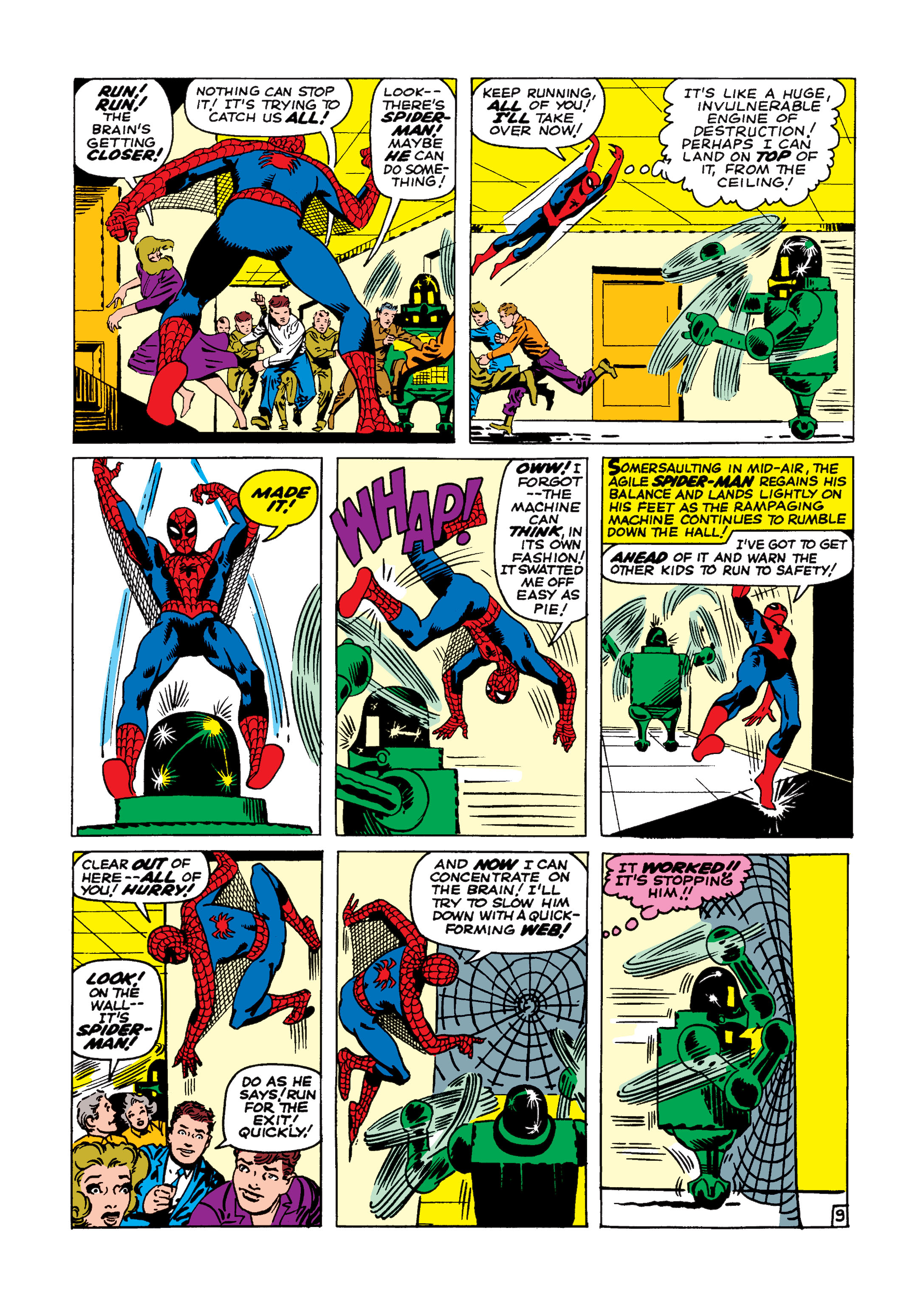 The Amazing Spider-Man (1963) 8 Page 9