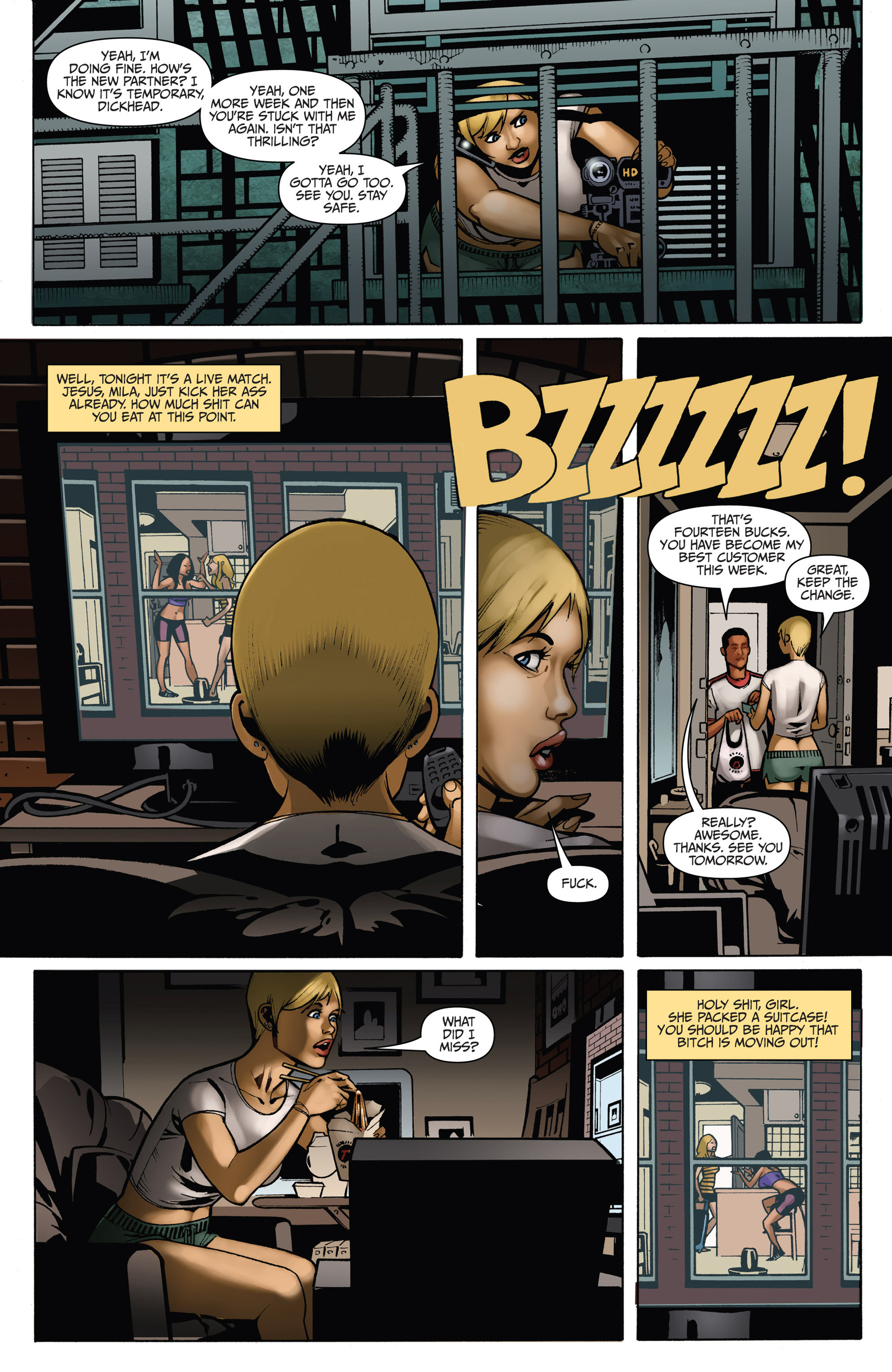 Read online Sex and Violence comic -  Issue # Full - 55