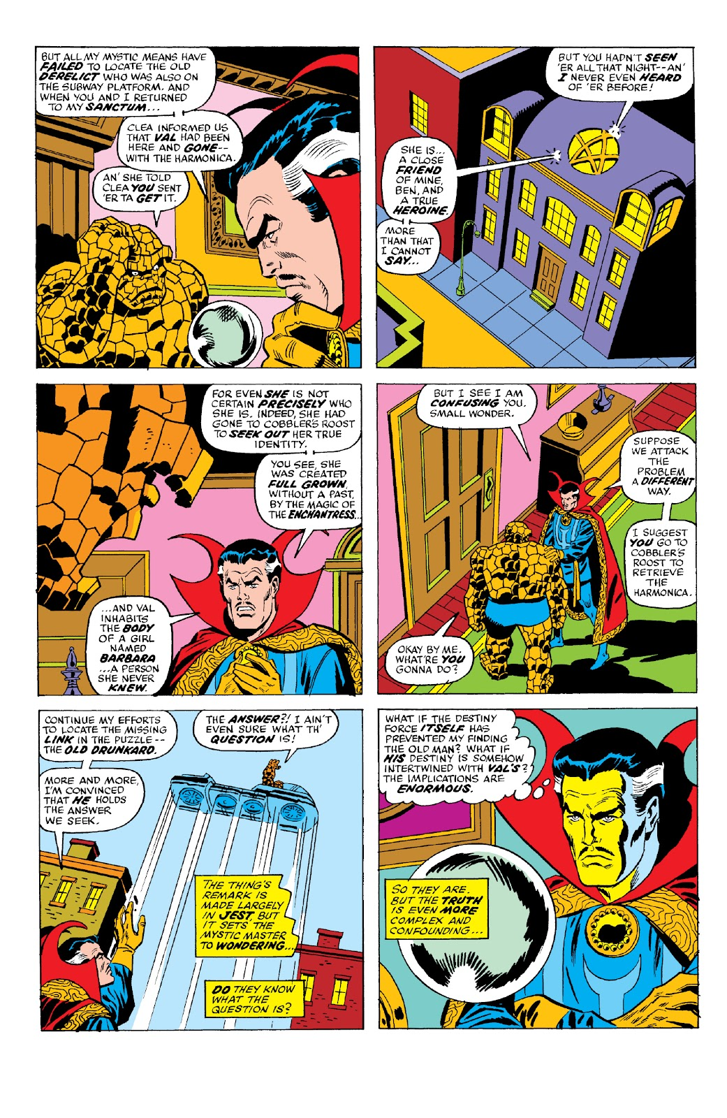 Read online Marvel Two-In-One Epic Collection: Cry Monster comic -  Issue # TPB (Part 2) - 65