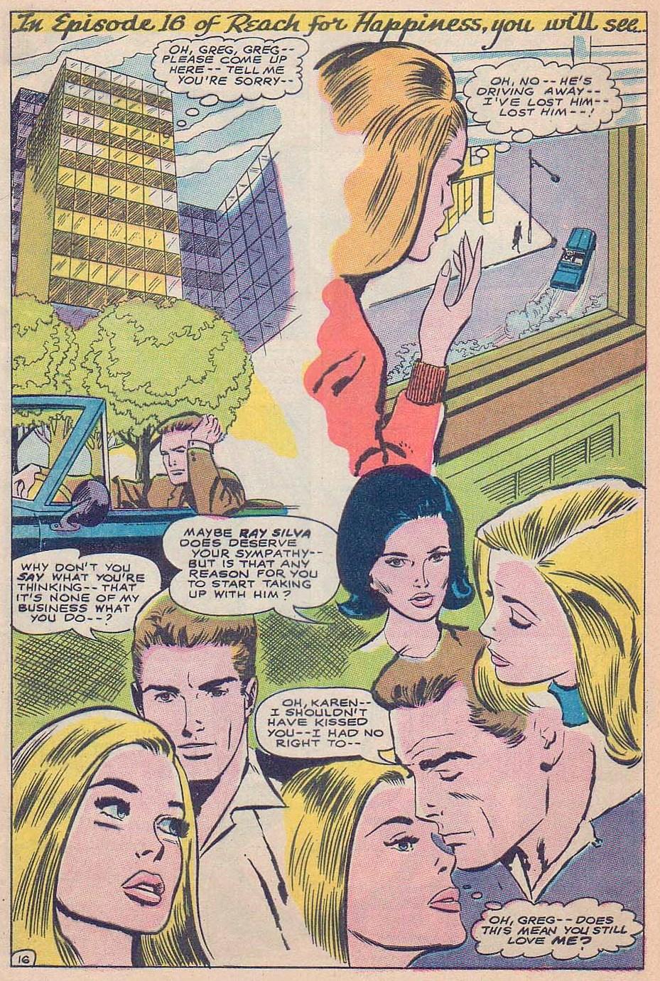 Read online Secret Hearts comic -  Issue #124 - 32
